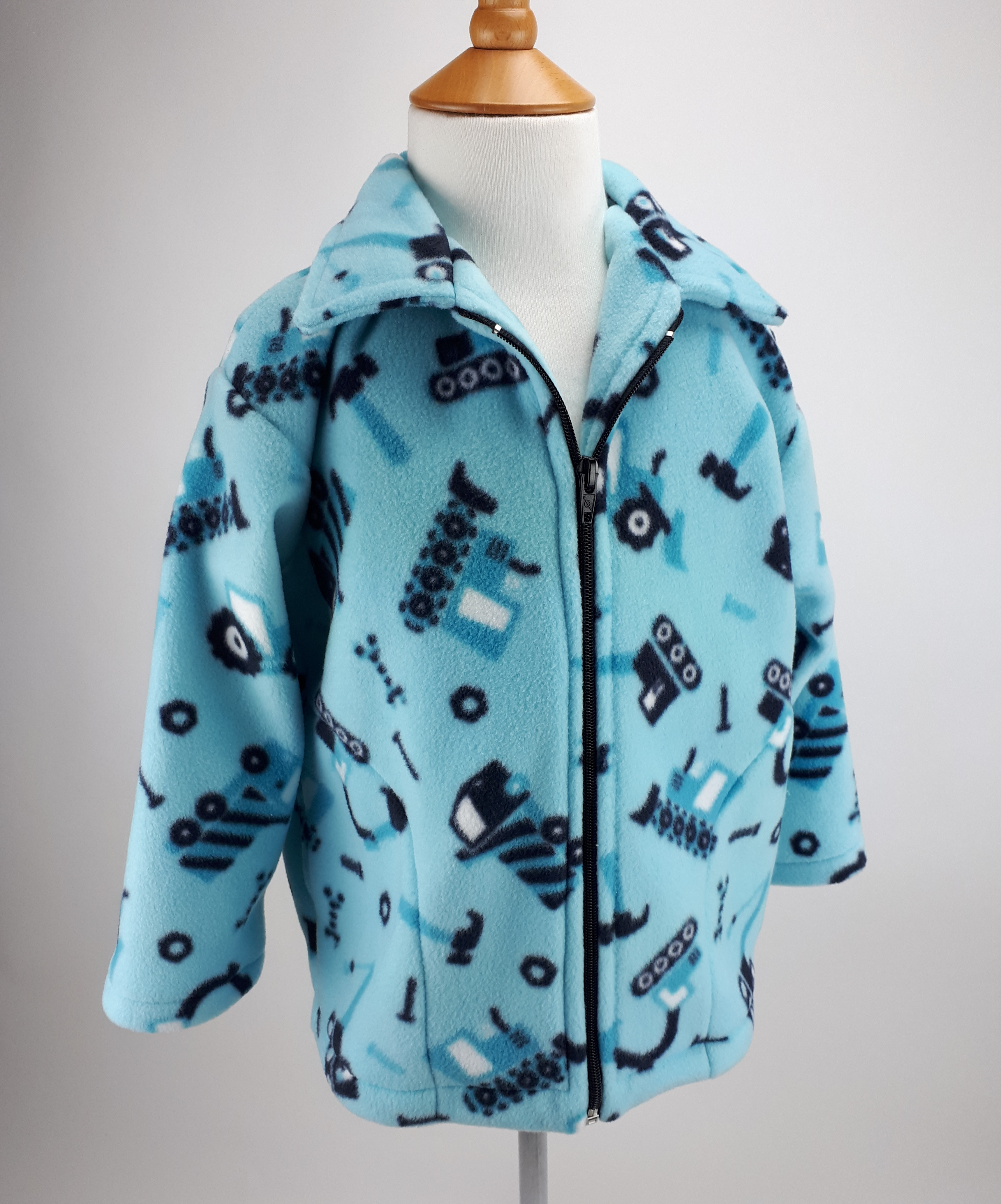 Turquoise Diggers Jacket