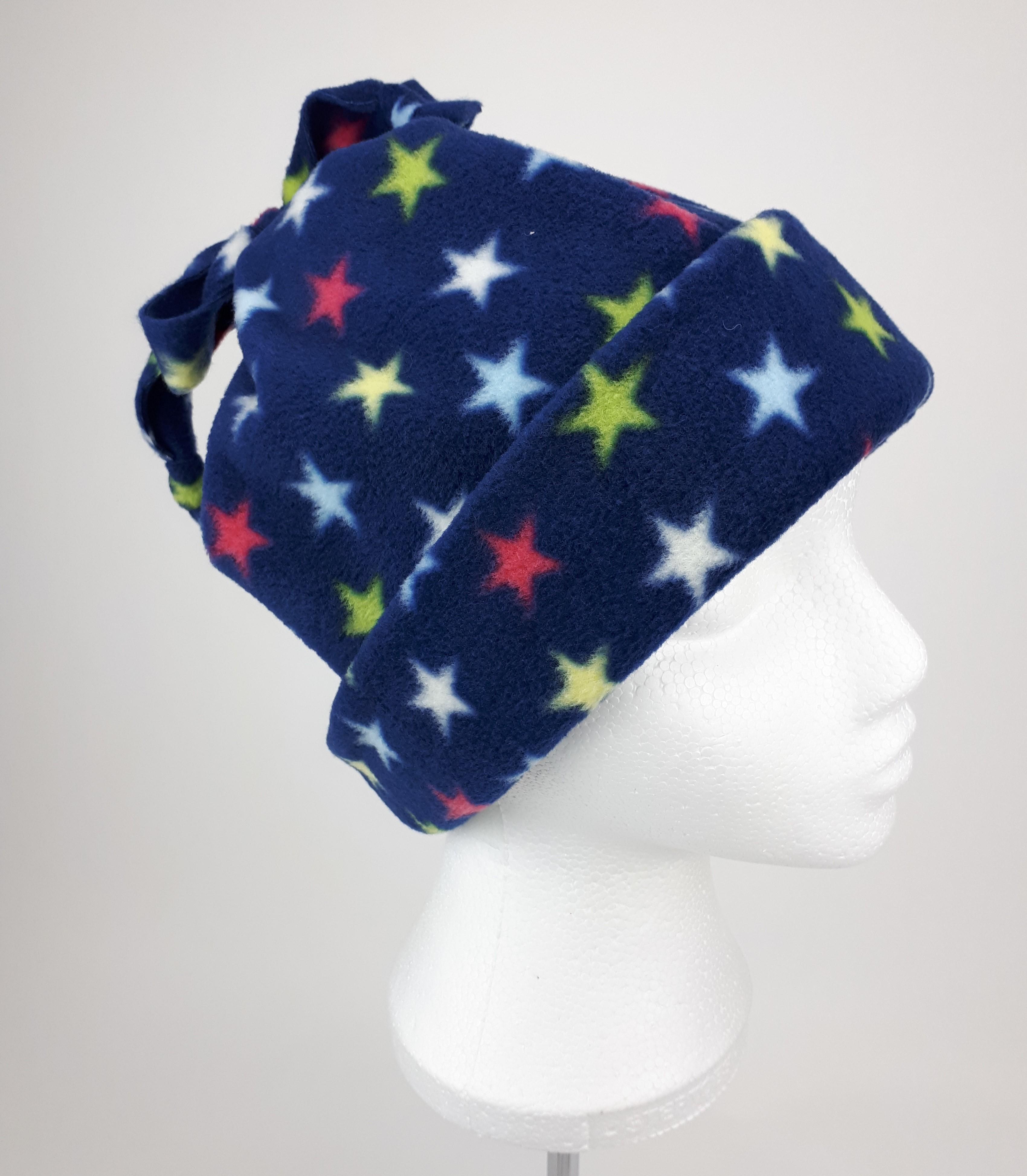 Navy Stars Hat