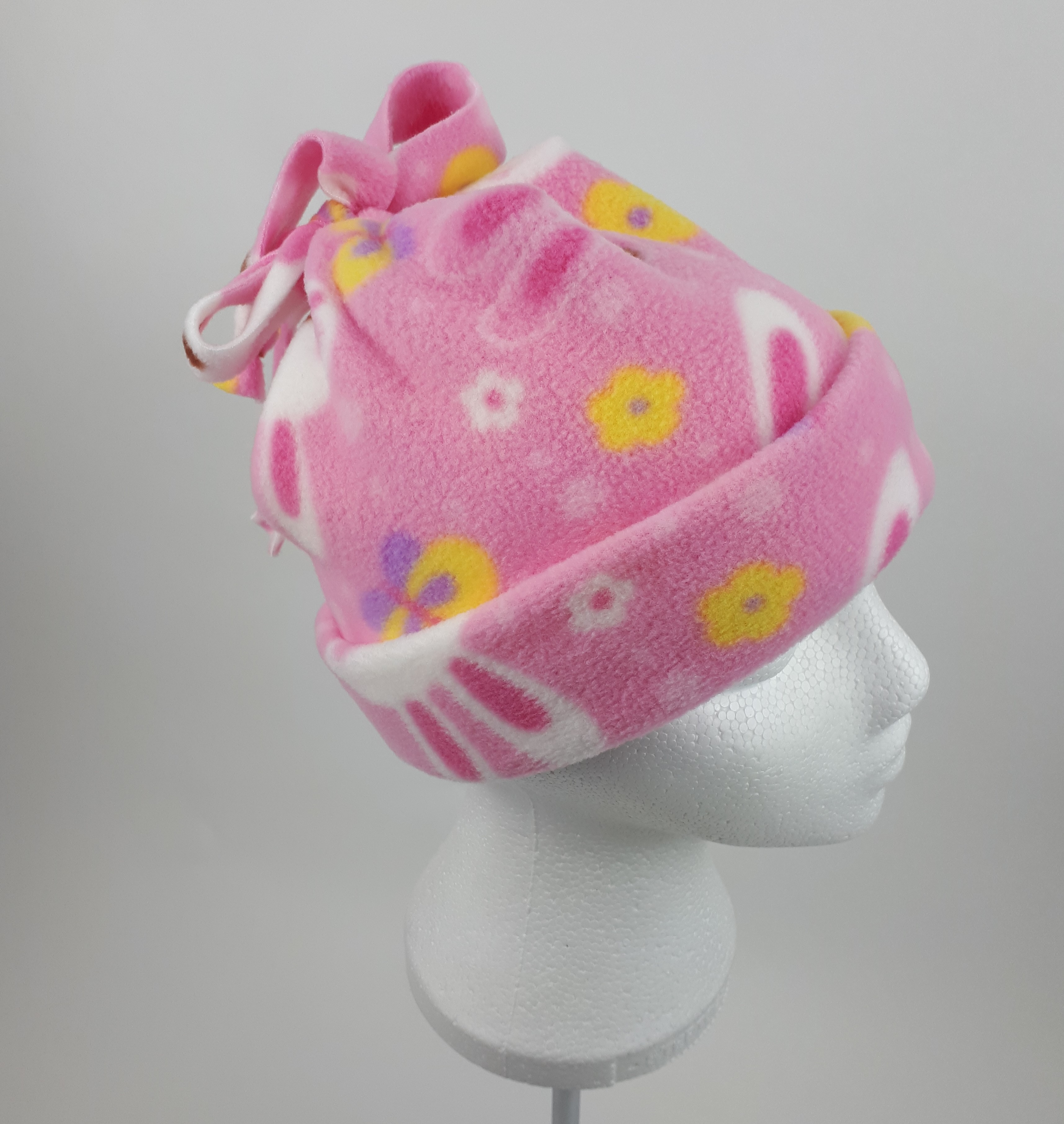 Pink Rabbits Hat