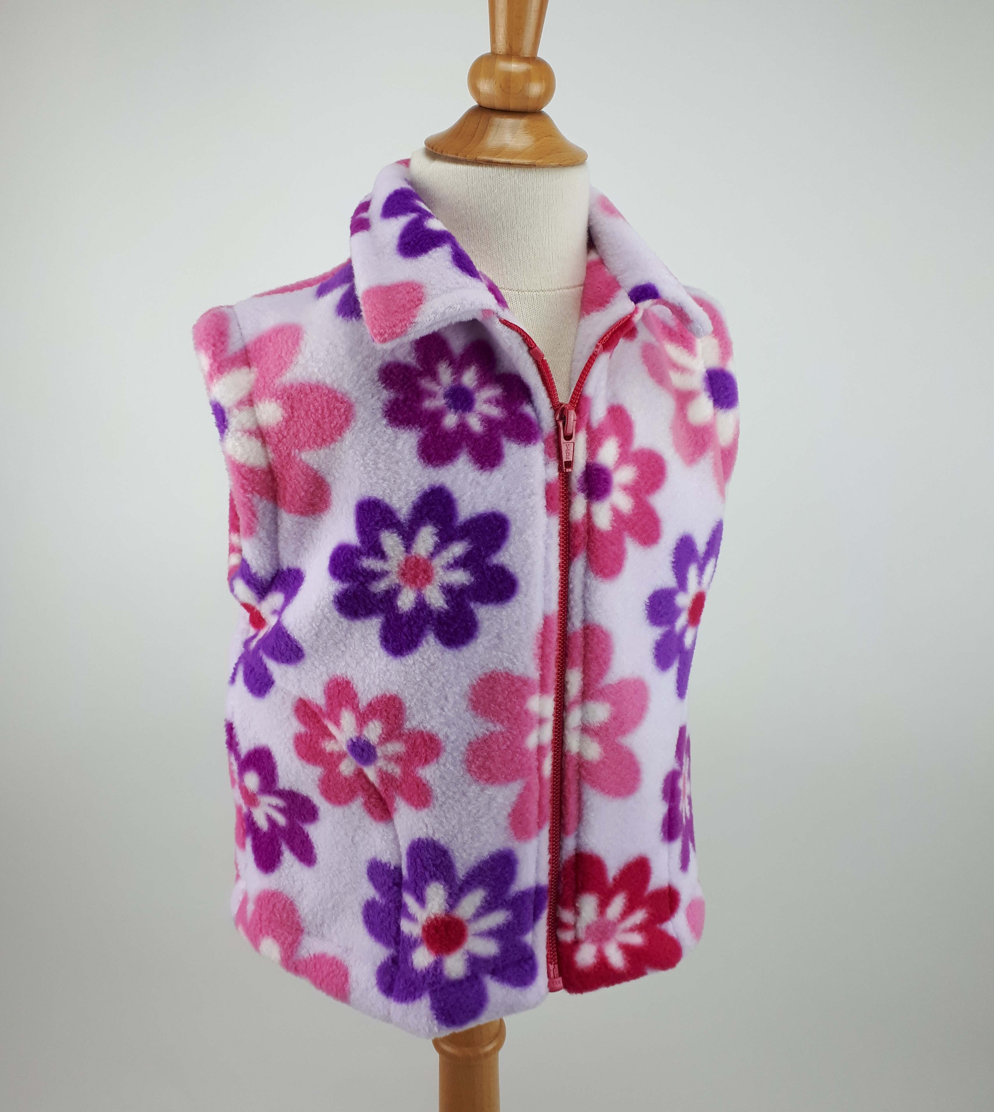 Lilac Flowers Gilet