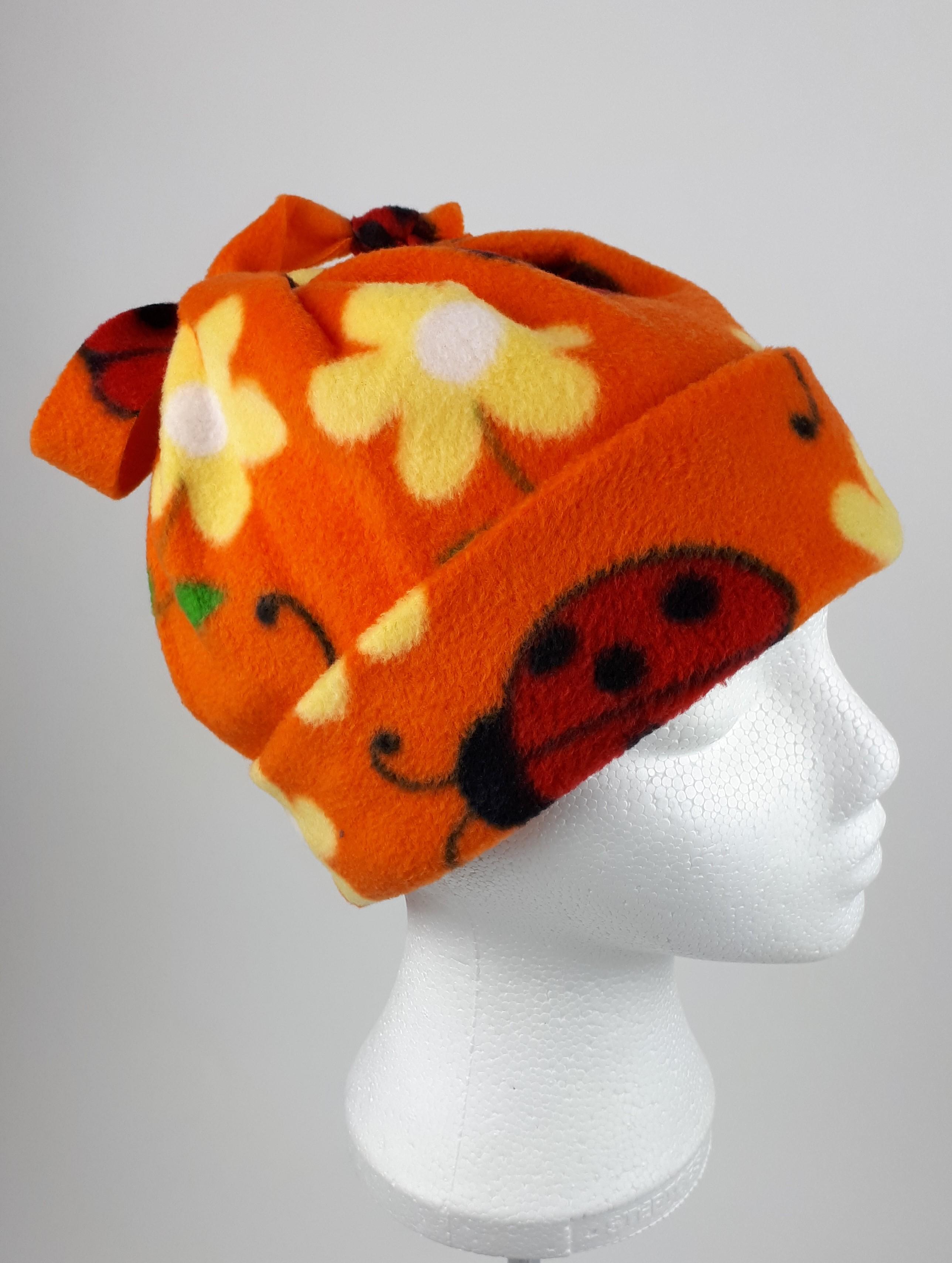 Orange Ladybird Hat
