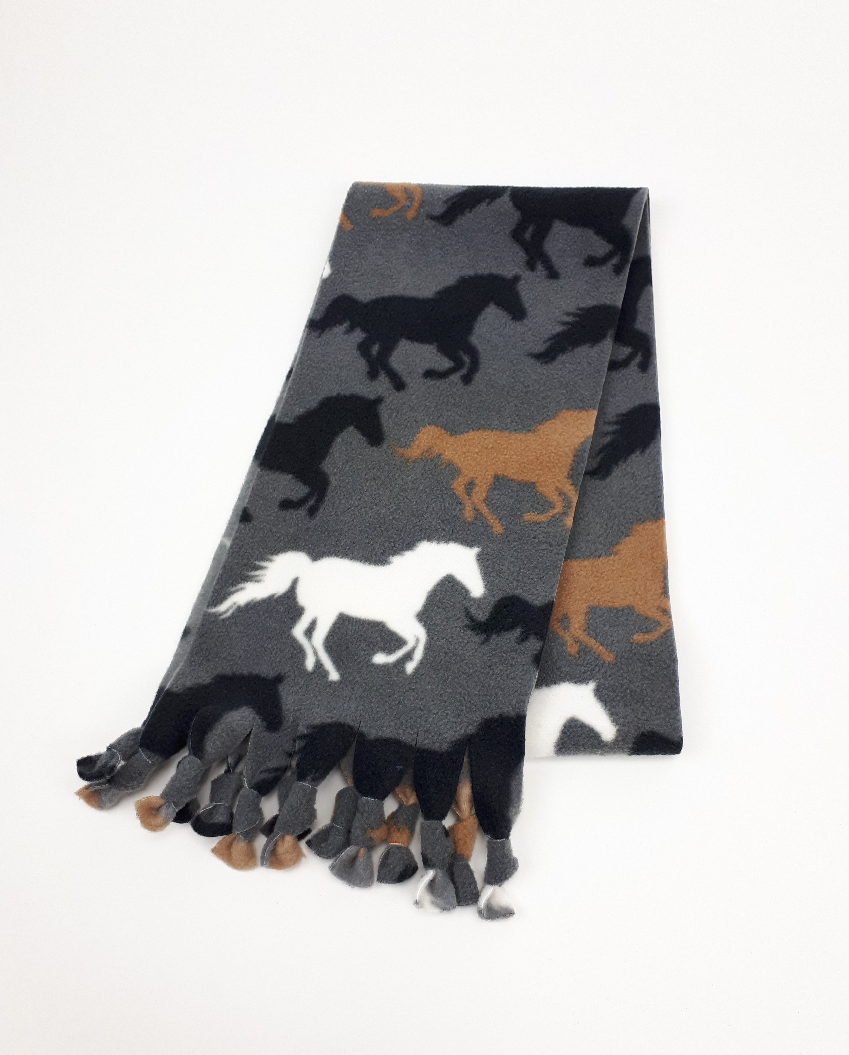 Silver Horses Scarf