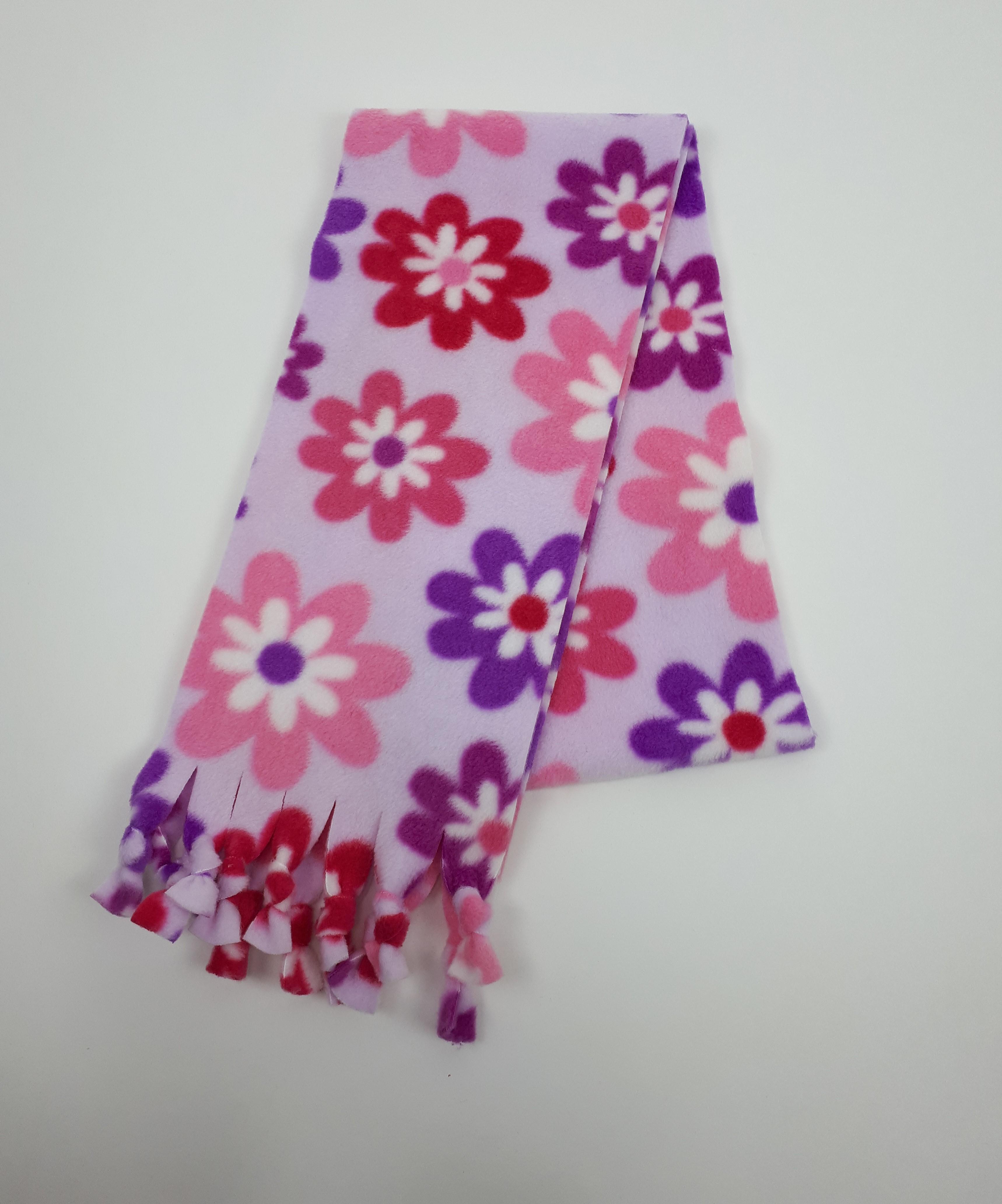 Lilac Flowers Scarf