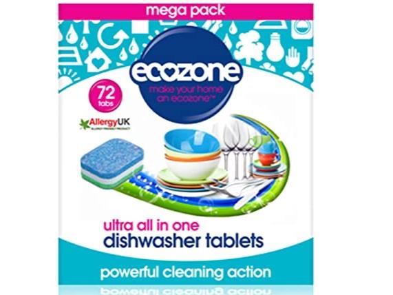 Ecozone Dishwasher Tablets (72)