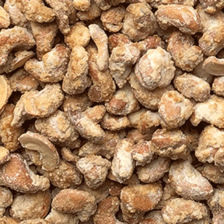 Caramelised Cashews