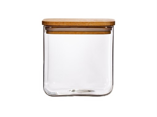 Glass Square Storage Containers
