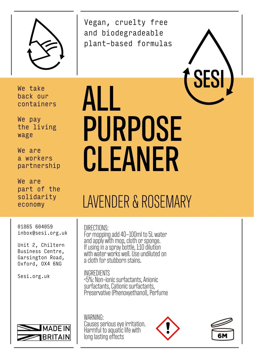 All Purpose Cleaner, Lavender & Rosemary