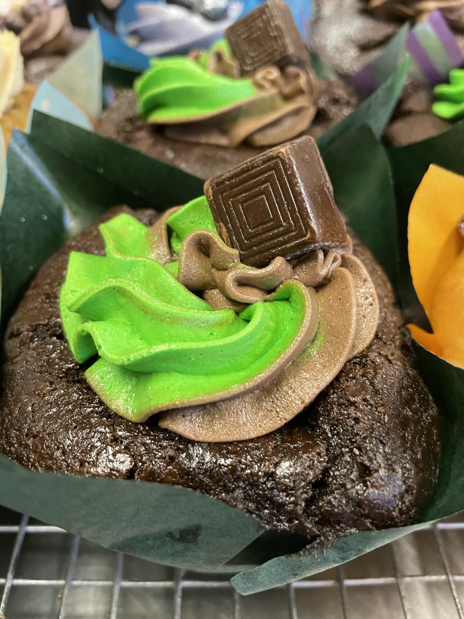Chocolate Mint Muffin
