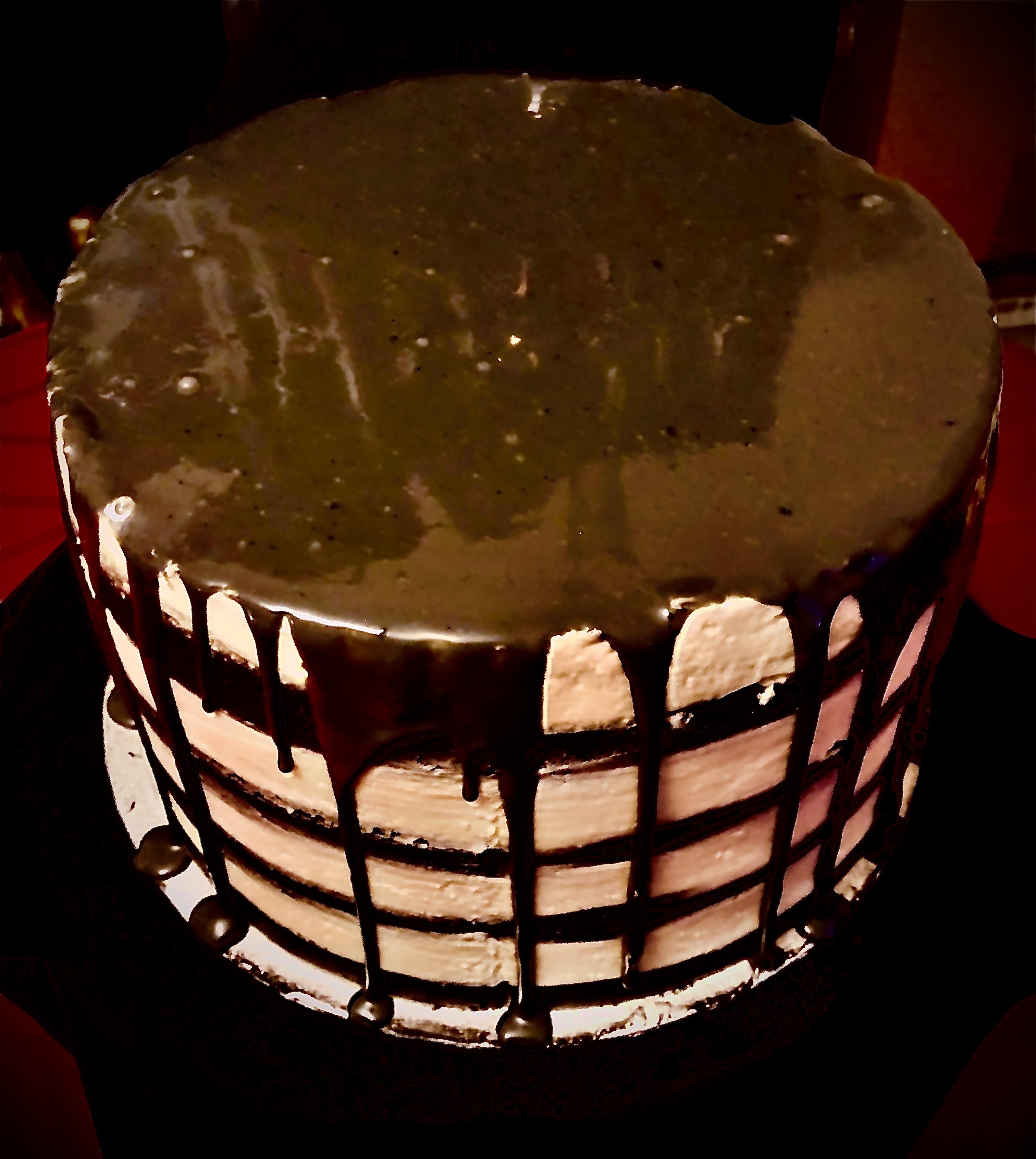Signature White Chocolate Drip Cake