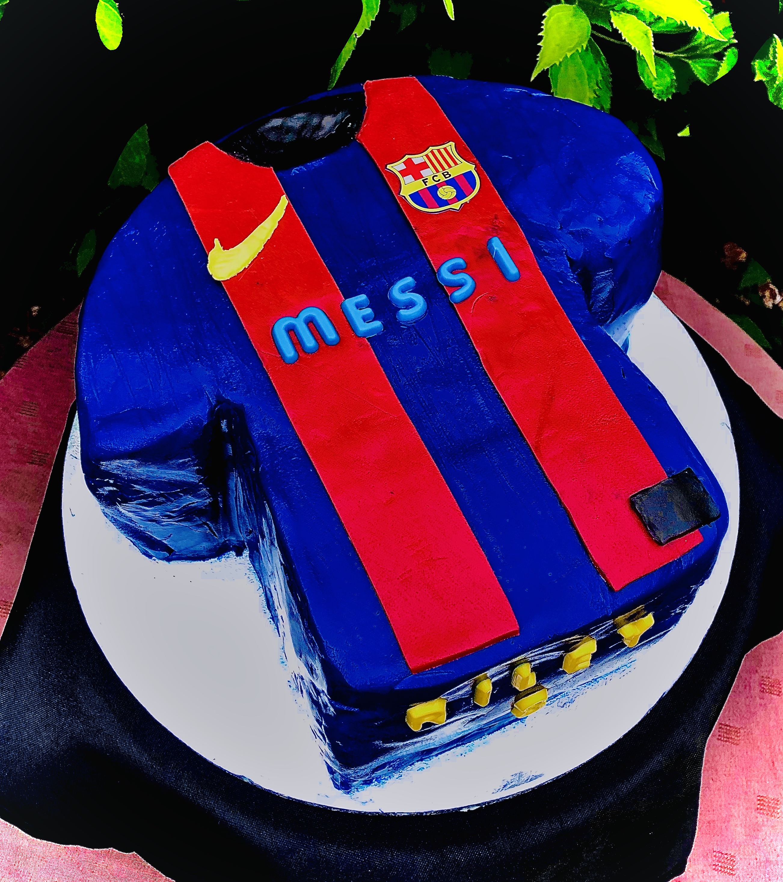 Signature Football / Rugby Shirt Cake