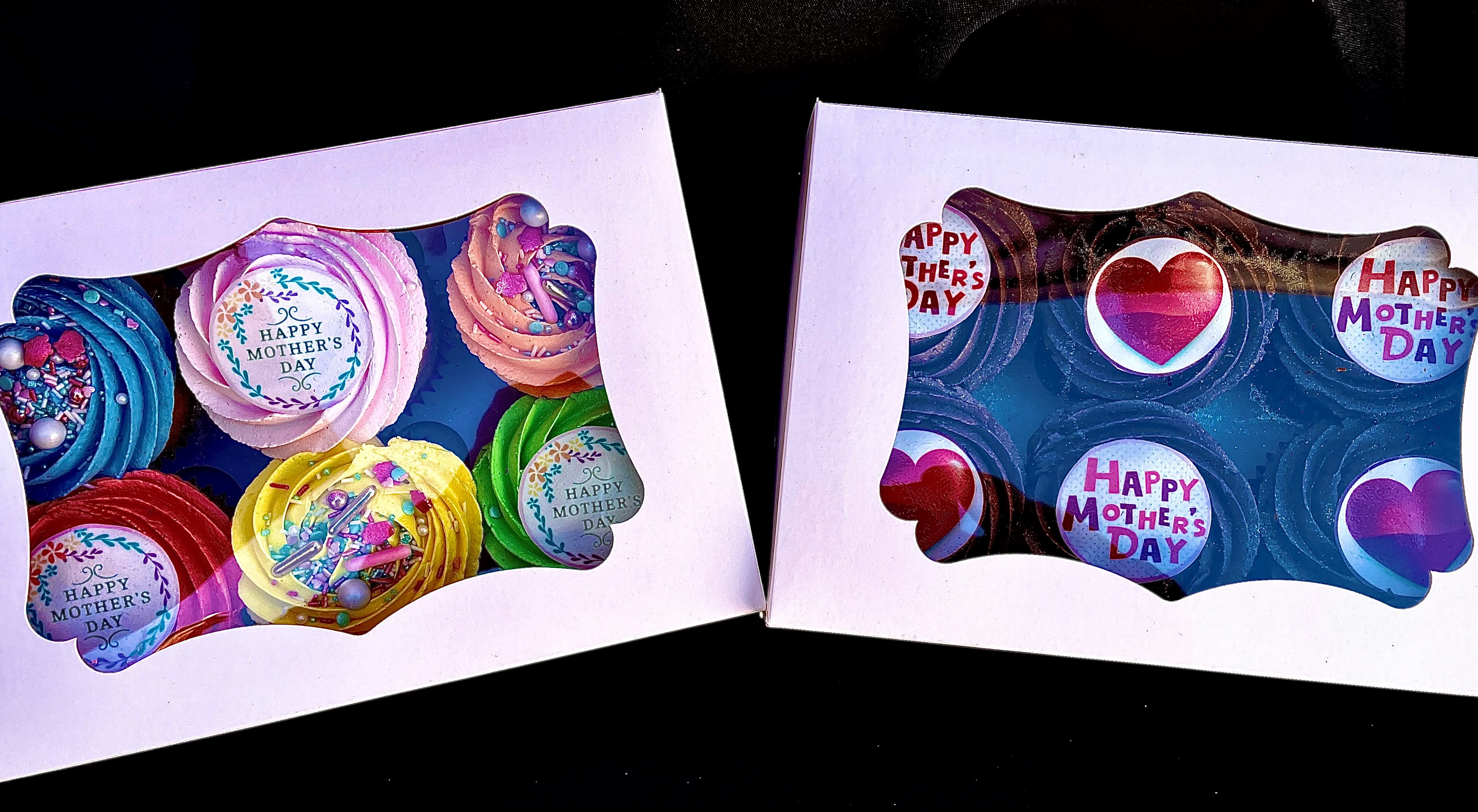 Mother's Day Cupcake Boxes