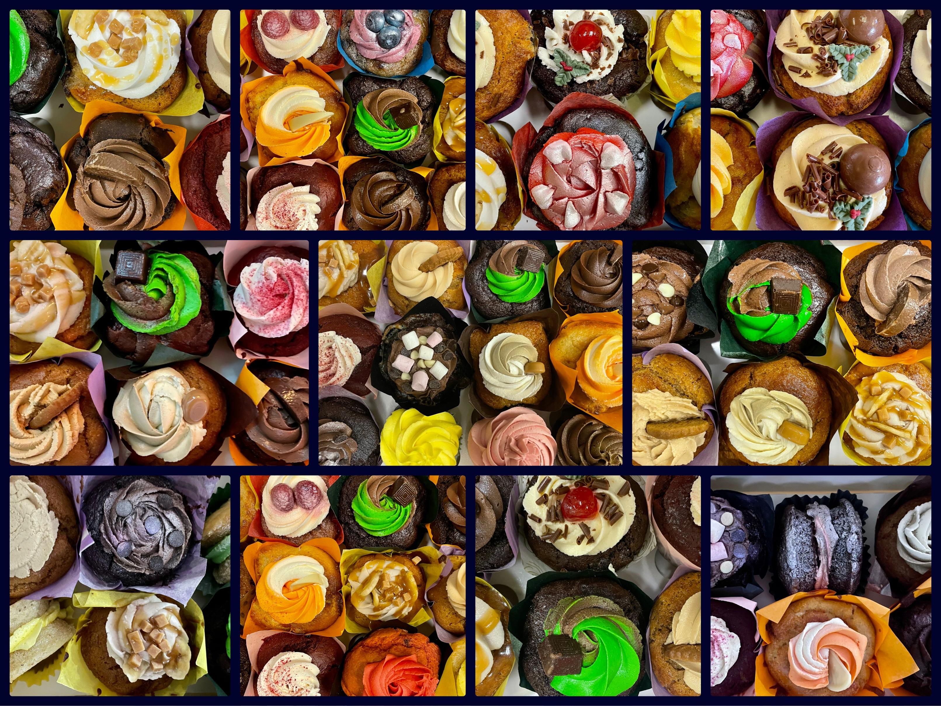 Mixed Box Muffins