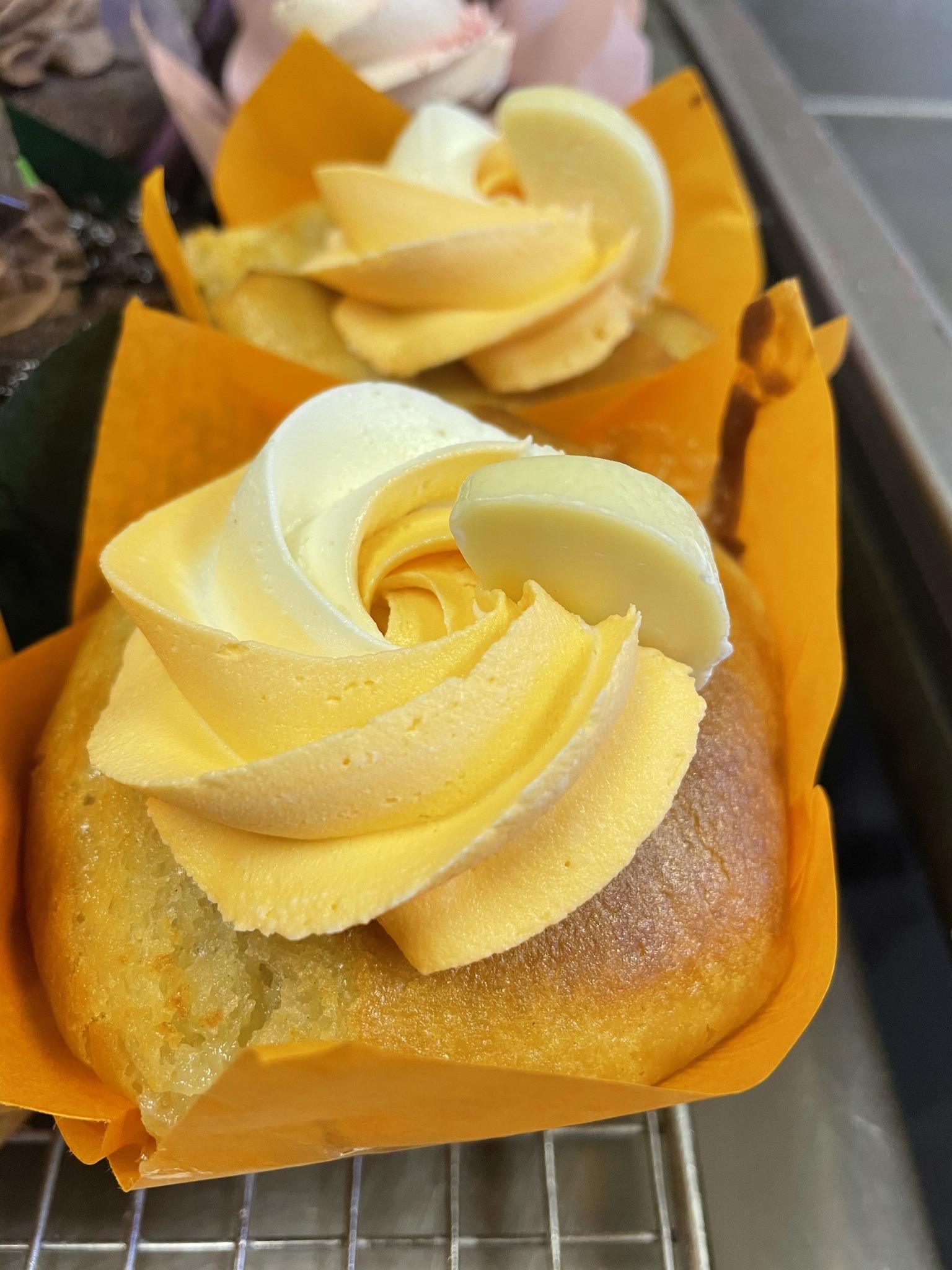 White Chocolate Orange Muffin