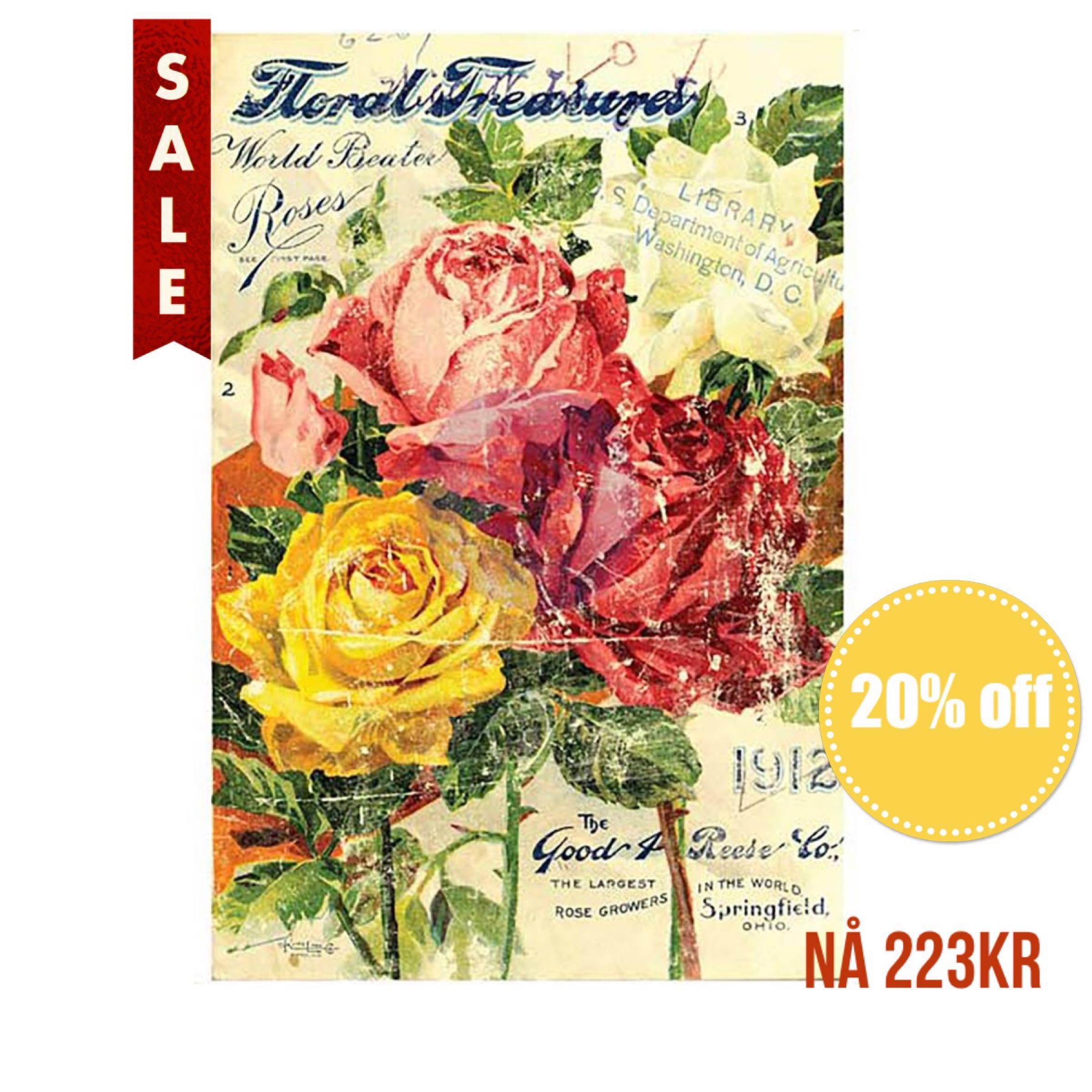IOD Transfer - Floral Treasure 24