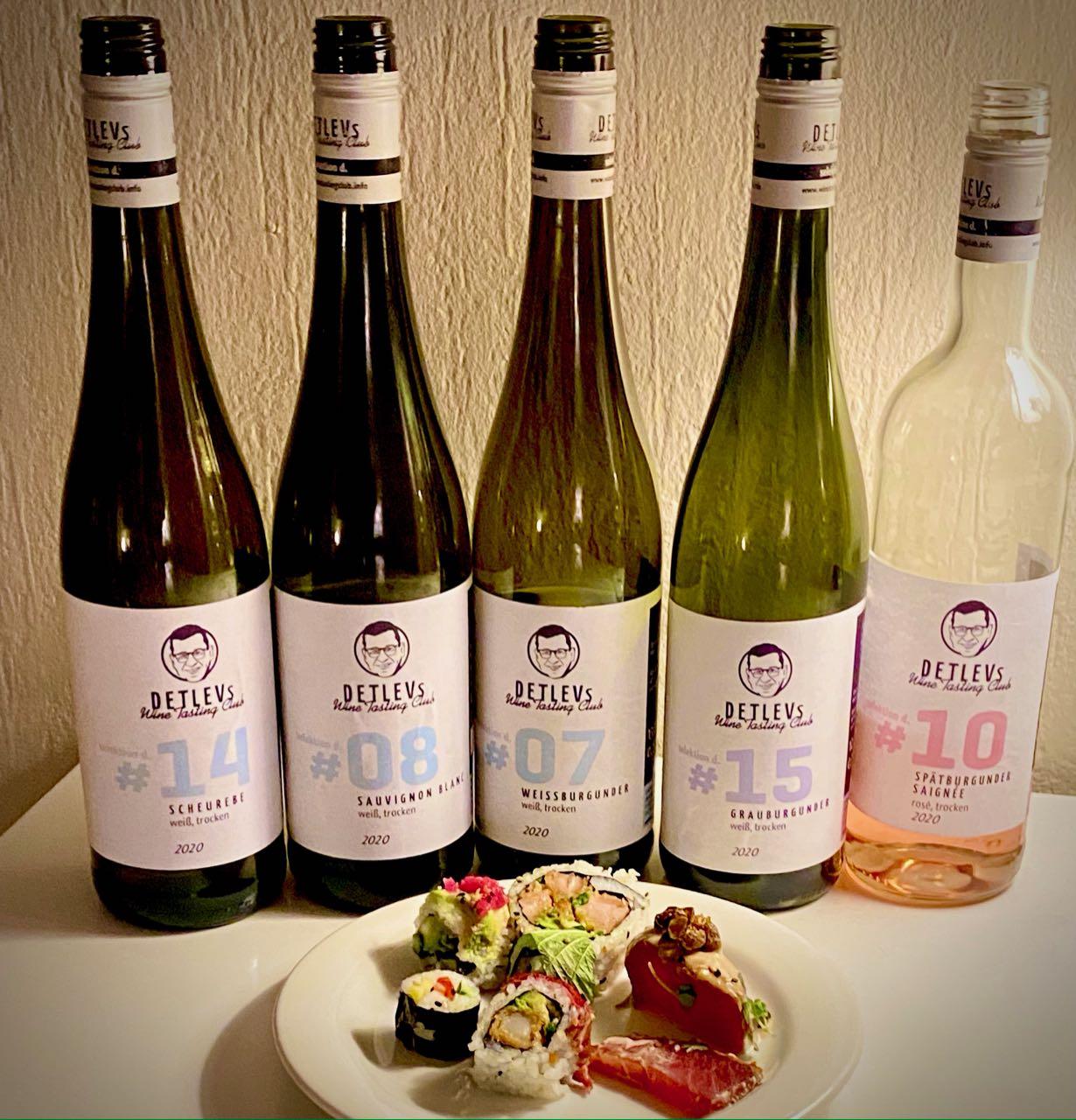 "DETLEVs ""selektion d."" No. 08 Sauvignon Blanc, bio, Jg. 2020"