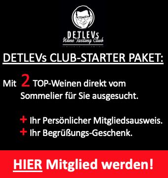 DETLEVs CLUB-STARTER GENUSS-PAKET.