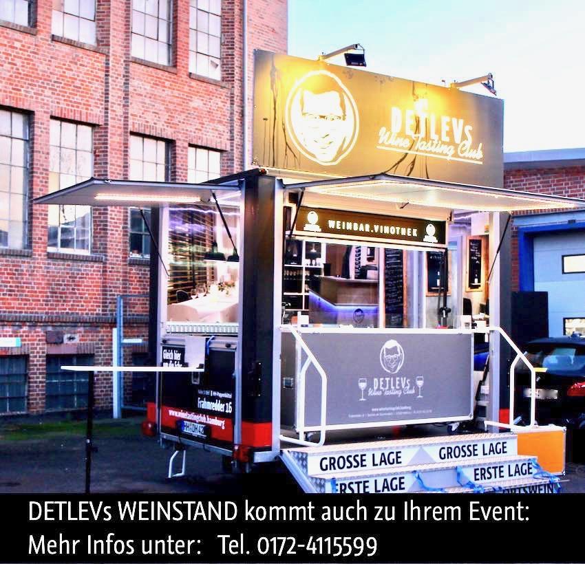 ICH KOMME ZU IHNEN: Sportverein, Sport-Turnier, Modellflugtag, Firmen-Fest, oder andere Anlässe. Weine + Getränke + Catering.
