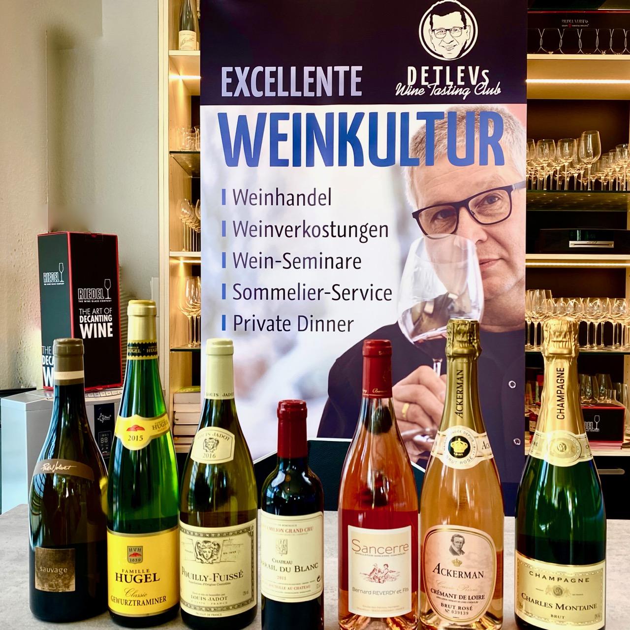 VIVE LA FRANCE: WineTastingClub Geniesser-Paket No. 5 mit TOP Weinen aus FRANKREICH + 1 GRAND CRU als Geschenk.