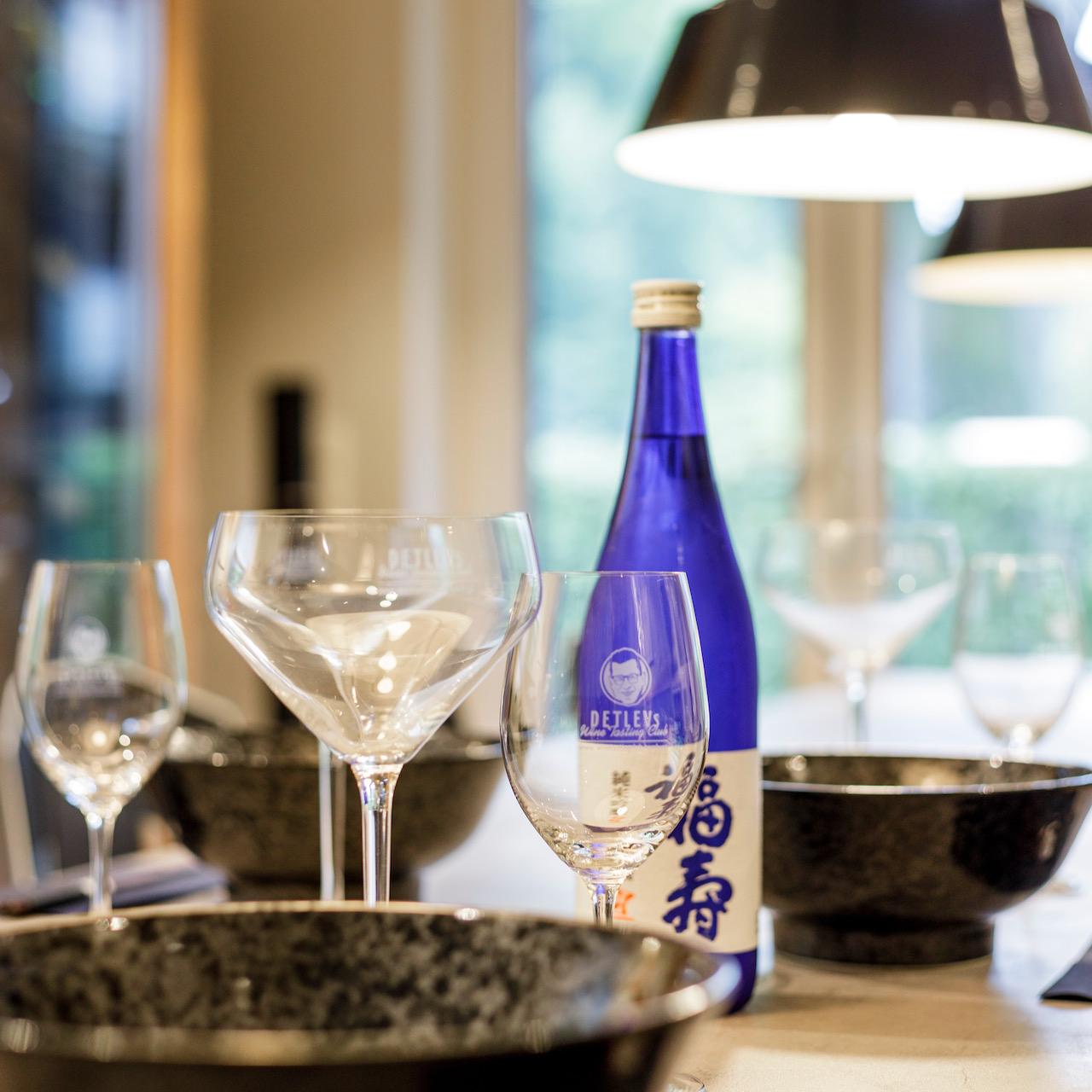 """- PRIVAT-EVENT - """"Japanischer Sake-Abend."""" Preis pro Geschlossene Gesellschaft."""