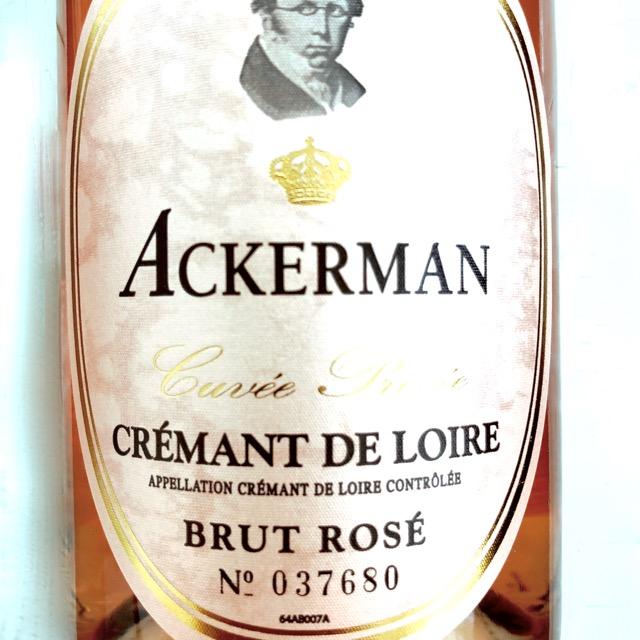 Ackerman Crémant de Loire brut rosé