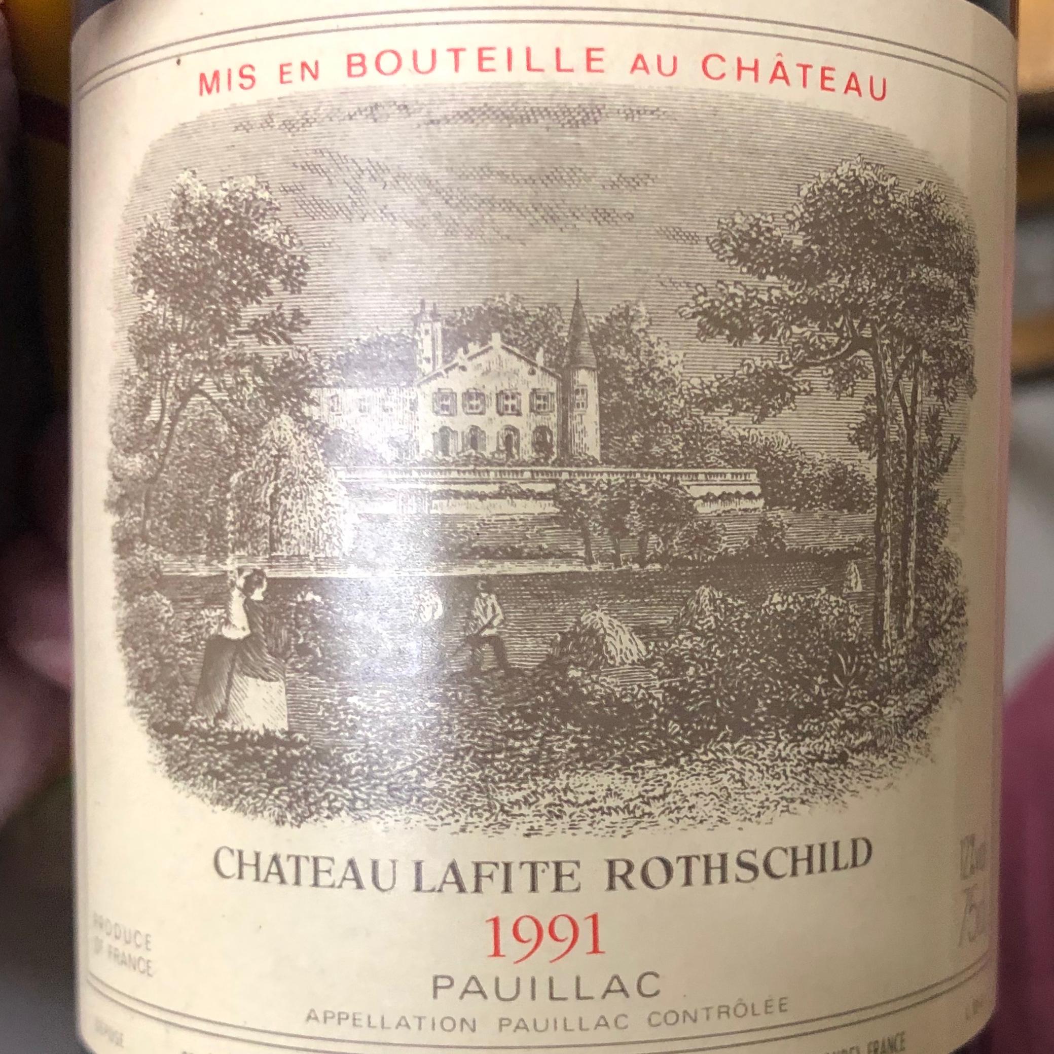 Chateau Lafite Rothschild Jg. 1991