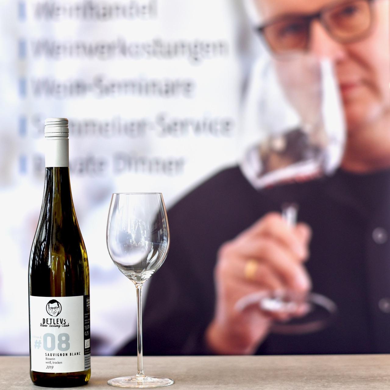 "DETLEVs ""selektion d."" No. 08 Sauvignon Blanc, bio, 2019"