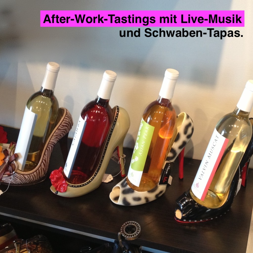 AFTER WORK PARTY - DO 03.12.20, ab 18h-22h - 5 Weine und Schwaben-Tapas