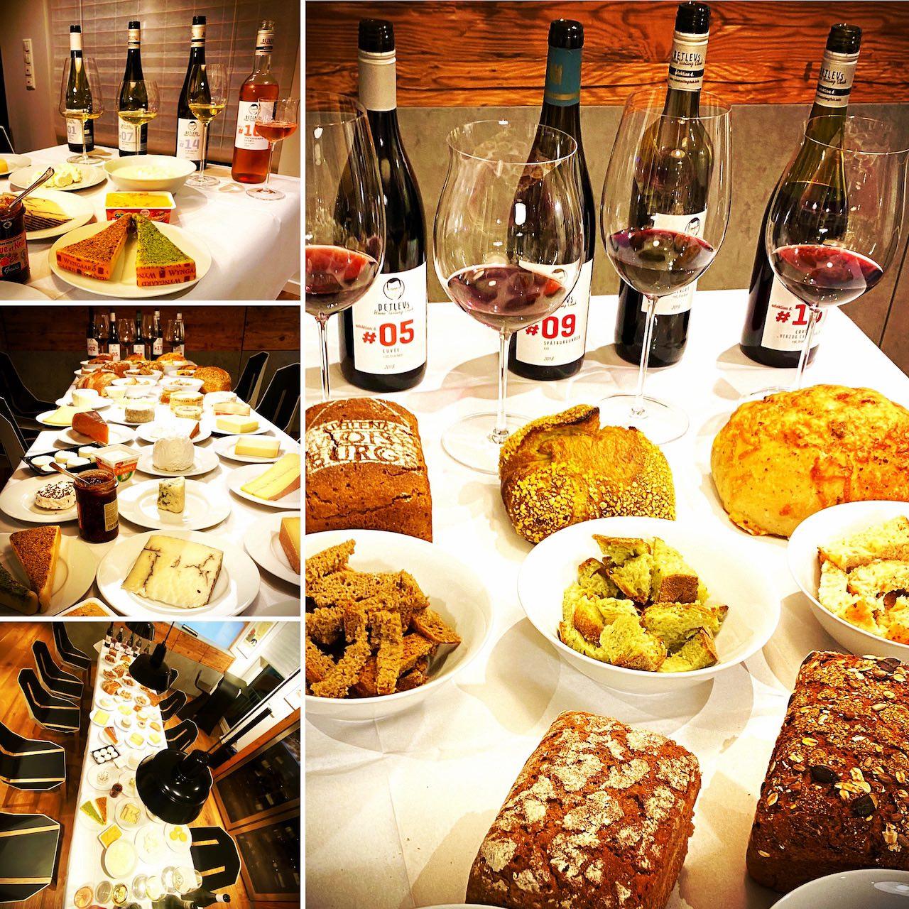 "- PRIVAT-EVENT - ""Wein, Käse + Brot vom Brot-Sommelier"" - Preis pro Geschlossene Gesellschaft."