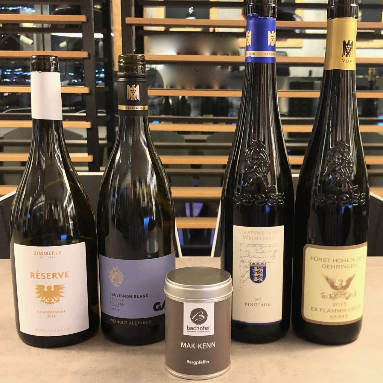 BARRIQUE-WEIN FREUDE: WineTastingClub Geniesser-Paket