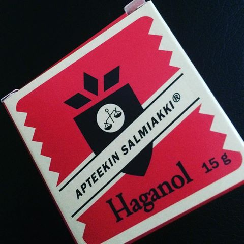 Haganol, Apoteks Salmiak