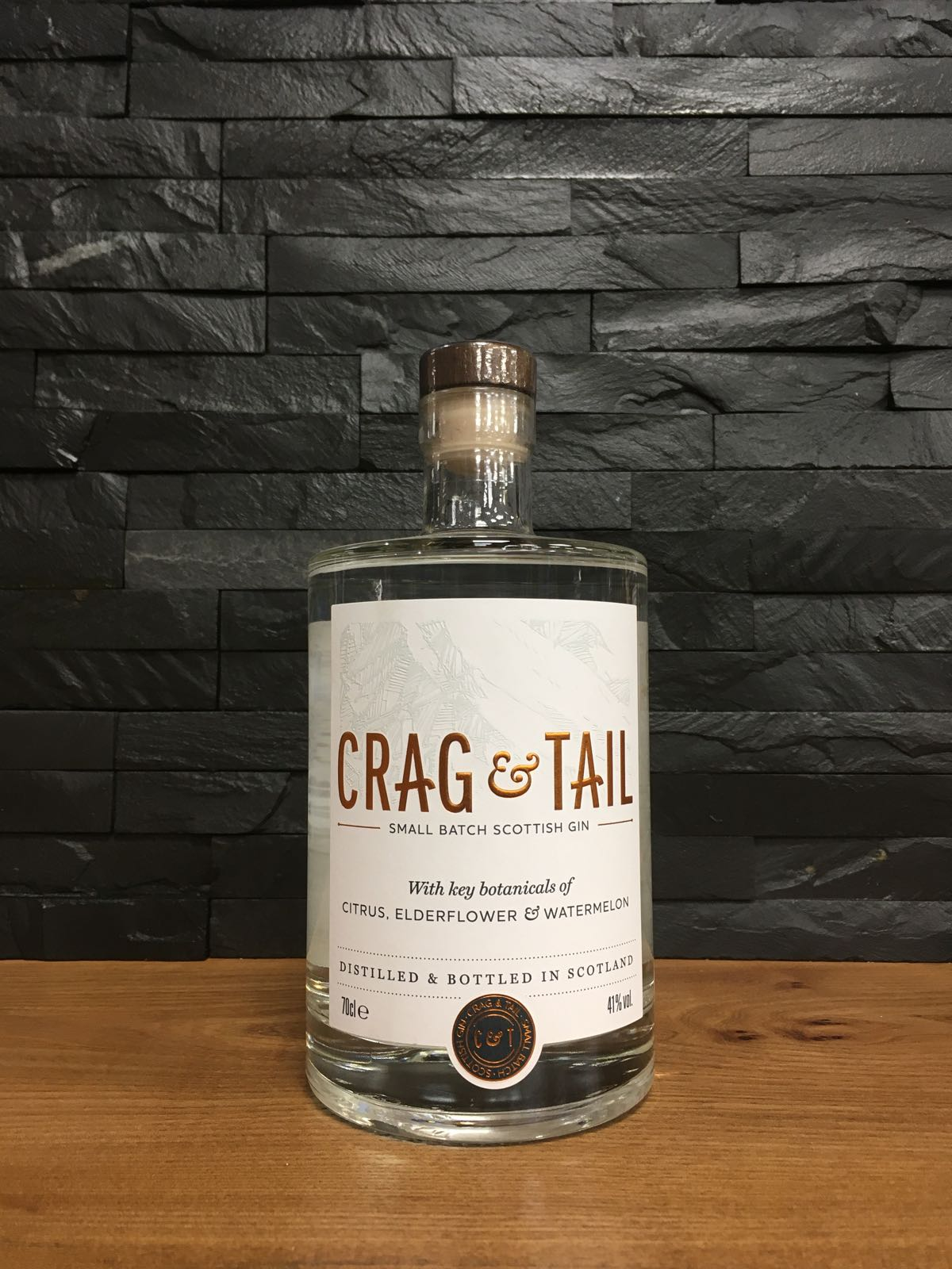 Crag & Tail Gin 70cl