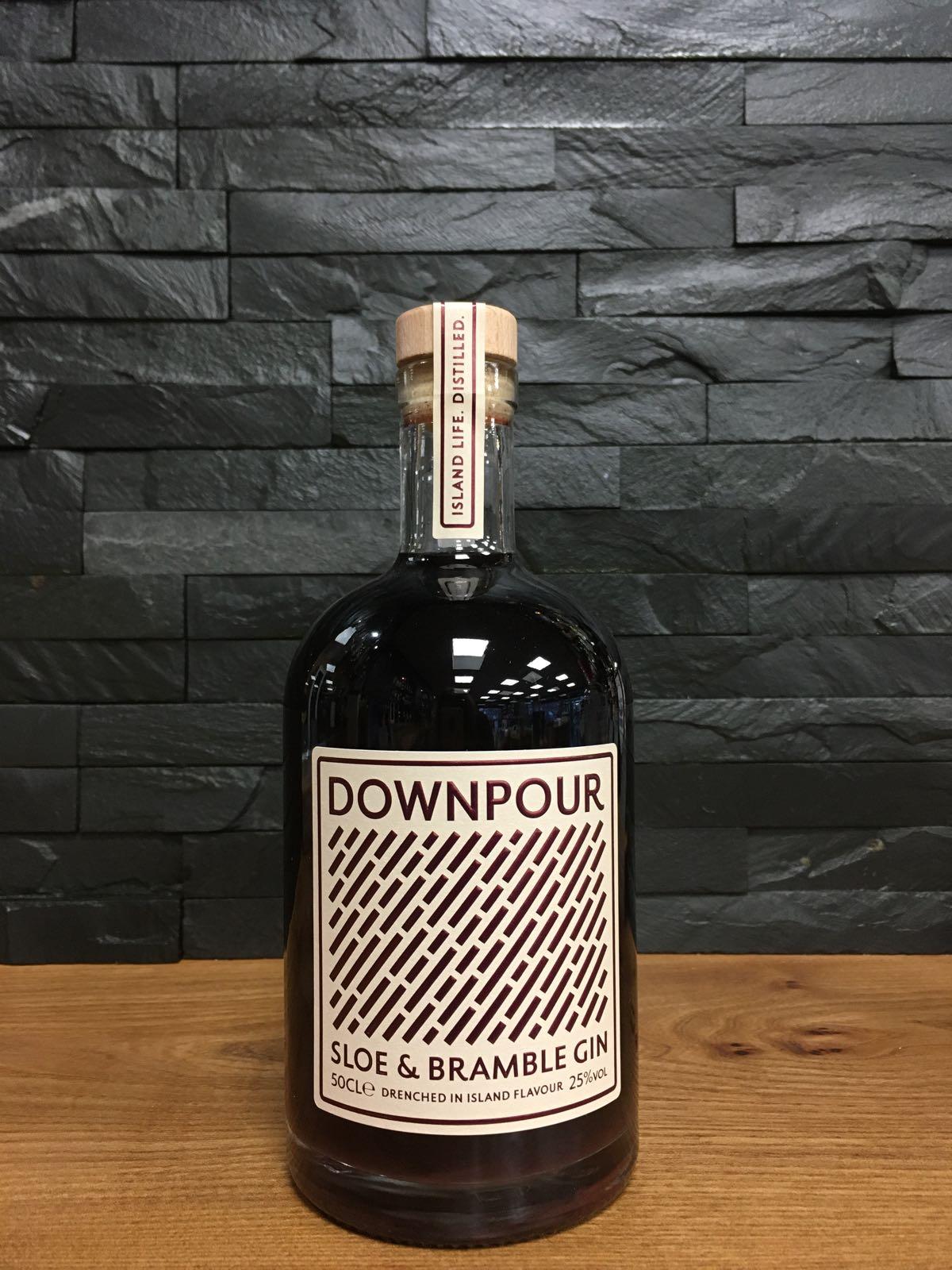 Downpour Sloe & Bramble Gin 50cl