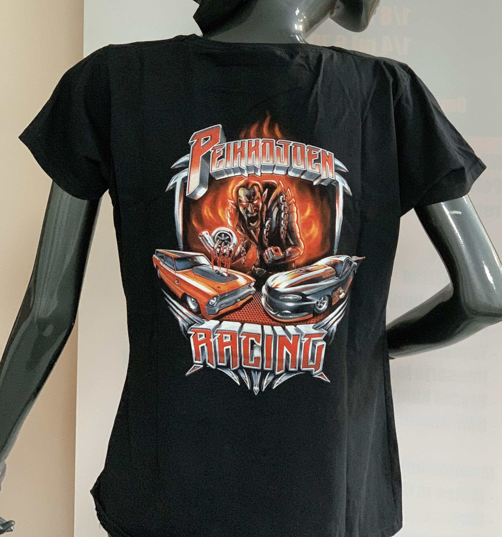 T-paita L selkäpainatuksella