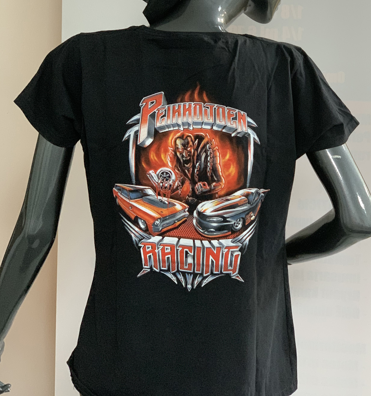 T-paita M selkäpainatuksella