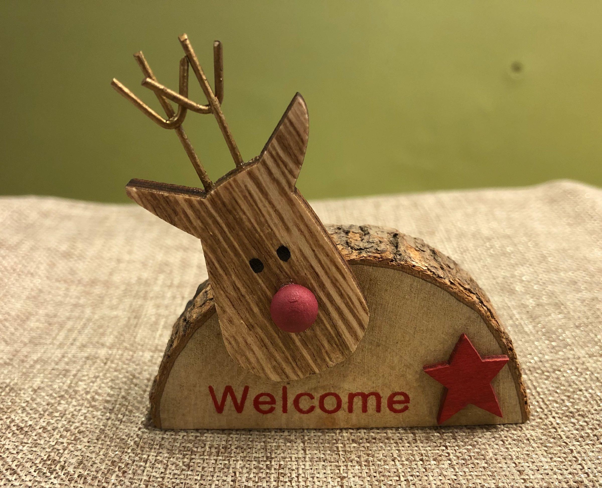 Welcome reindeers - mini