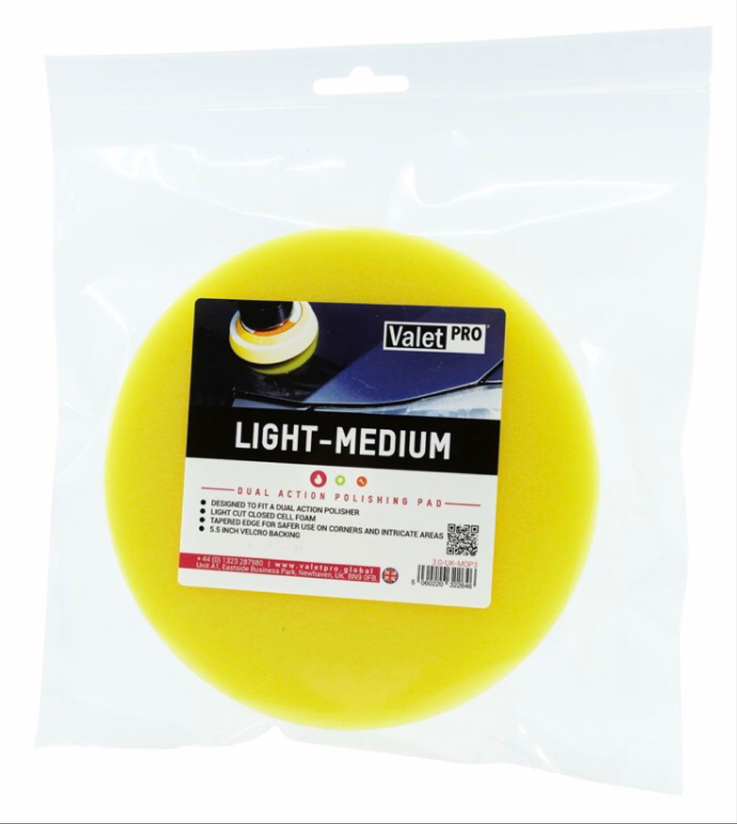 A. Light-Medium Polishing Pad