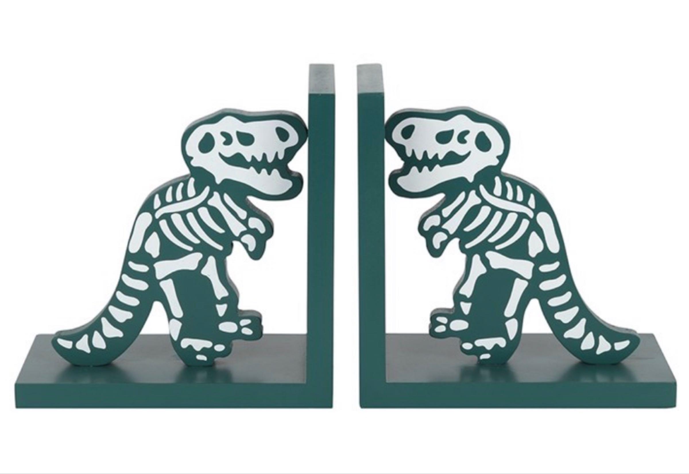 Dinosaur  Bone Bookends  15cm x15cmx10cm