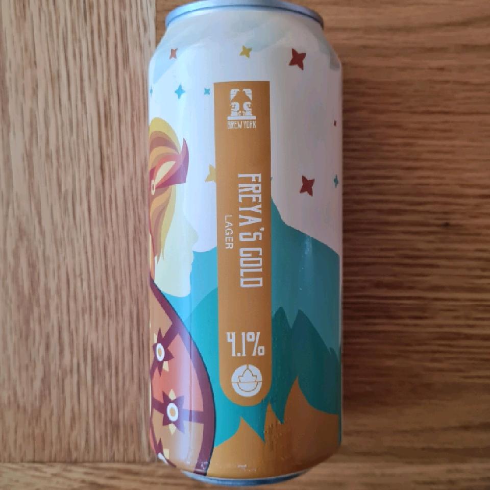 Brew York Freyas Gold