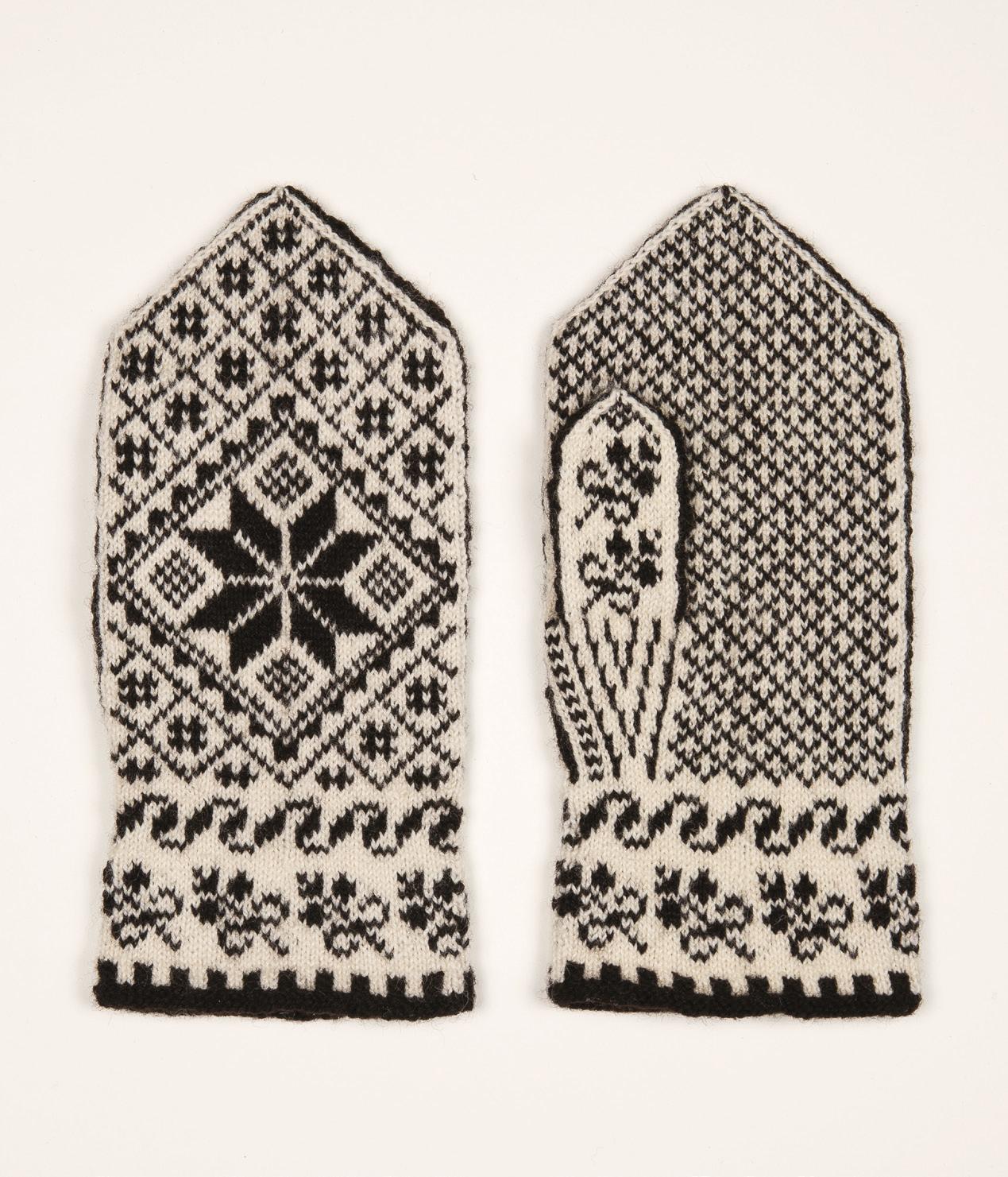 Selbuvotter strikkepakker (150g)