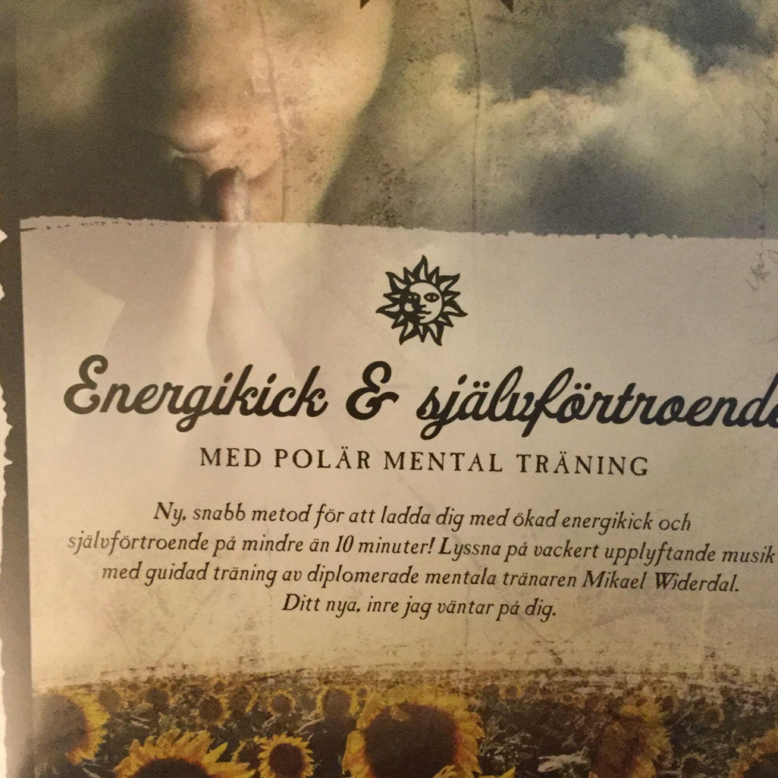 CD Energikick och självförtroende 199:-