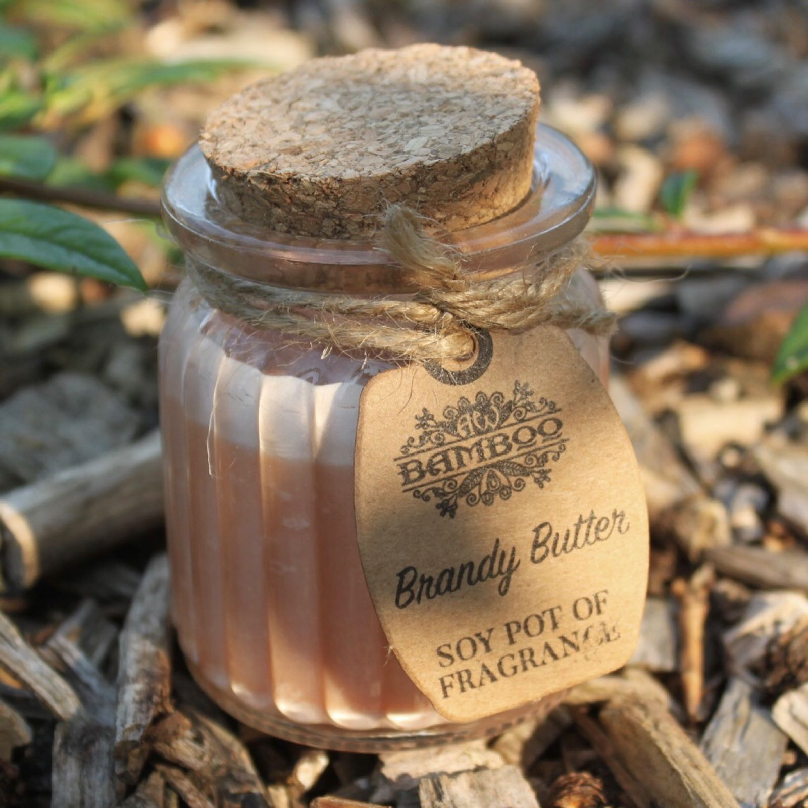 'Brandy Butter' Soy Pot Candle (Was £3.50)