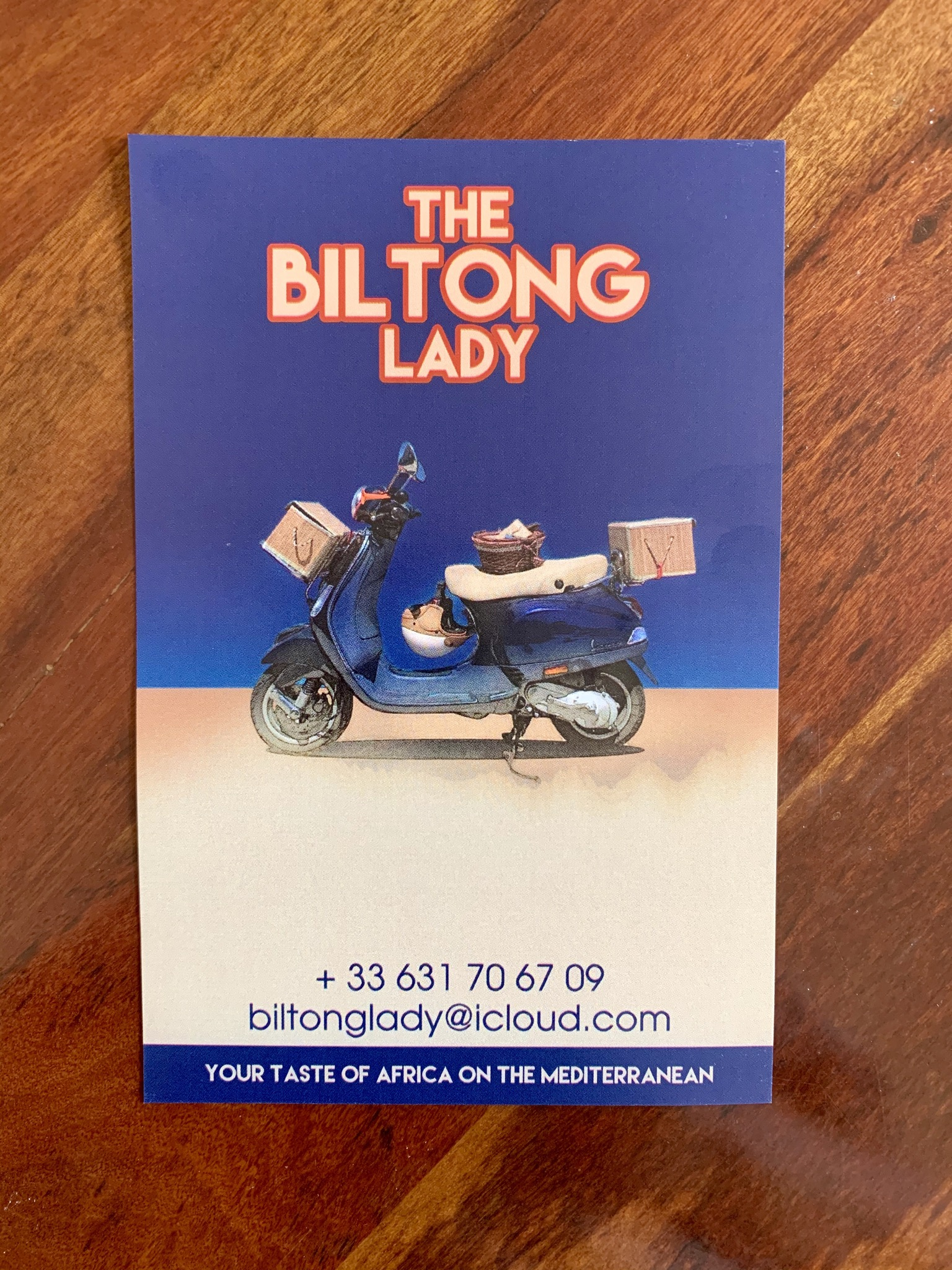 THE BILTONG LADY