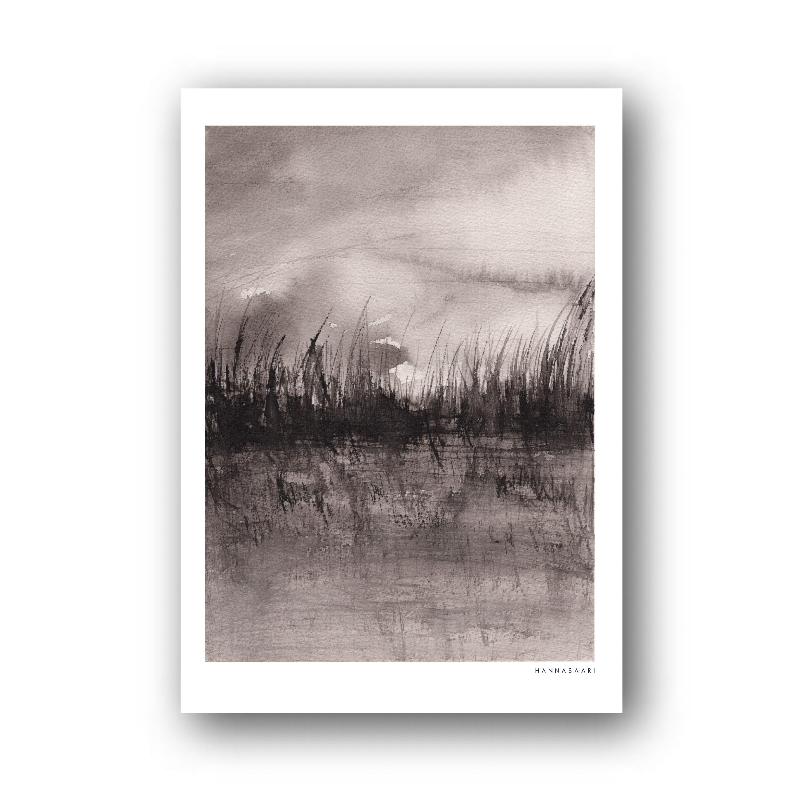 halikonlahti kortti-poster A4