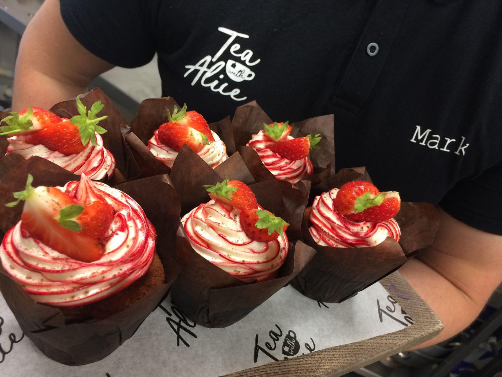 Dozen Red Velvet Cupcakes