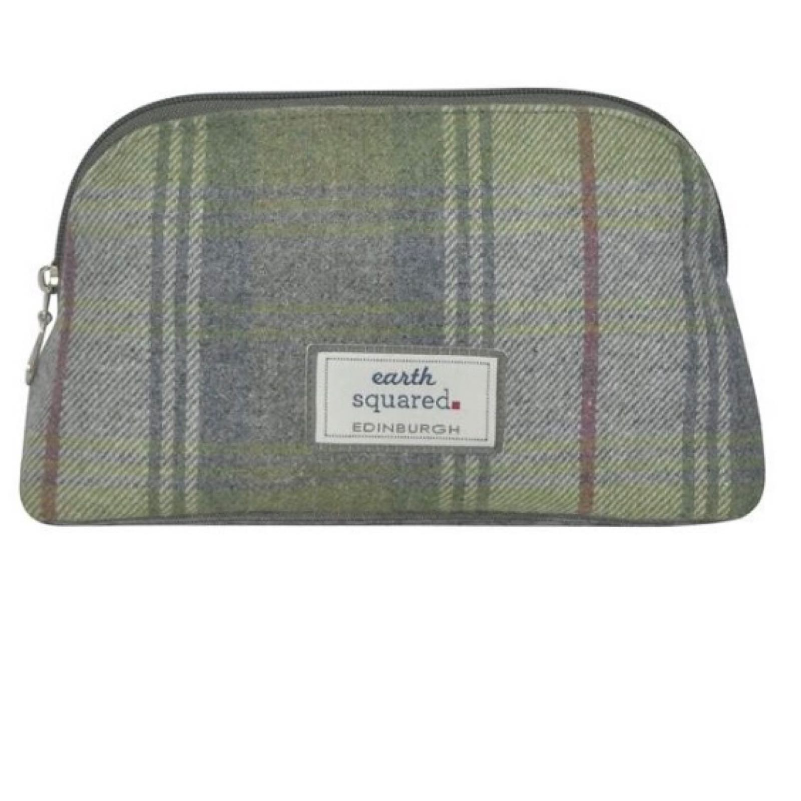 Earth Squared Toiletry Bag - Pebble Tweed