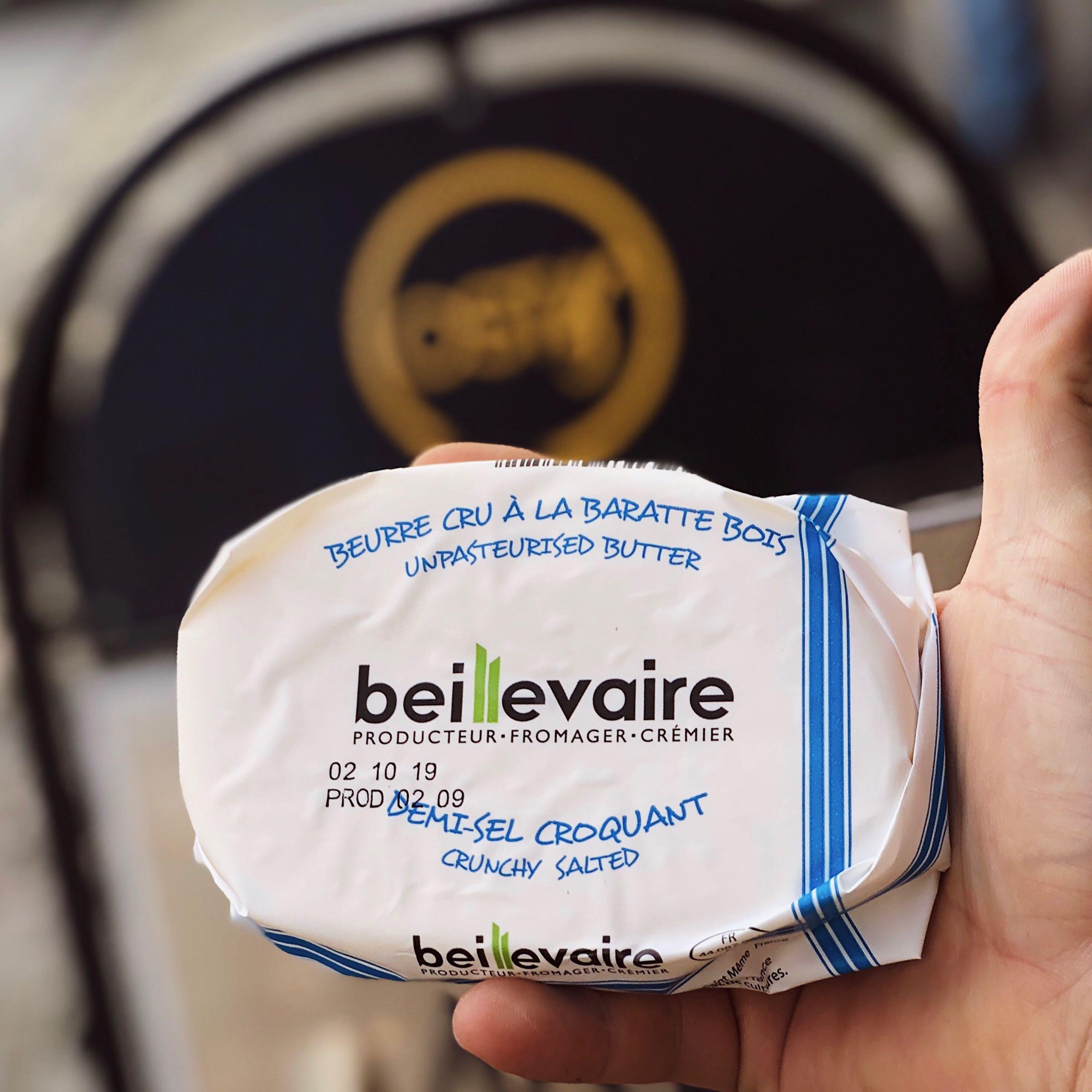 Franskt smör  (opastöriserat)