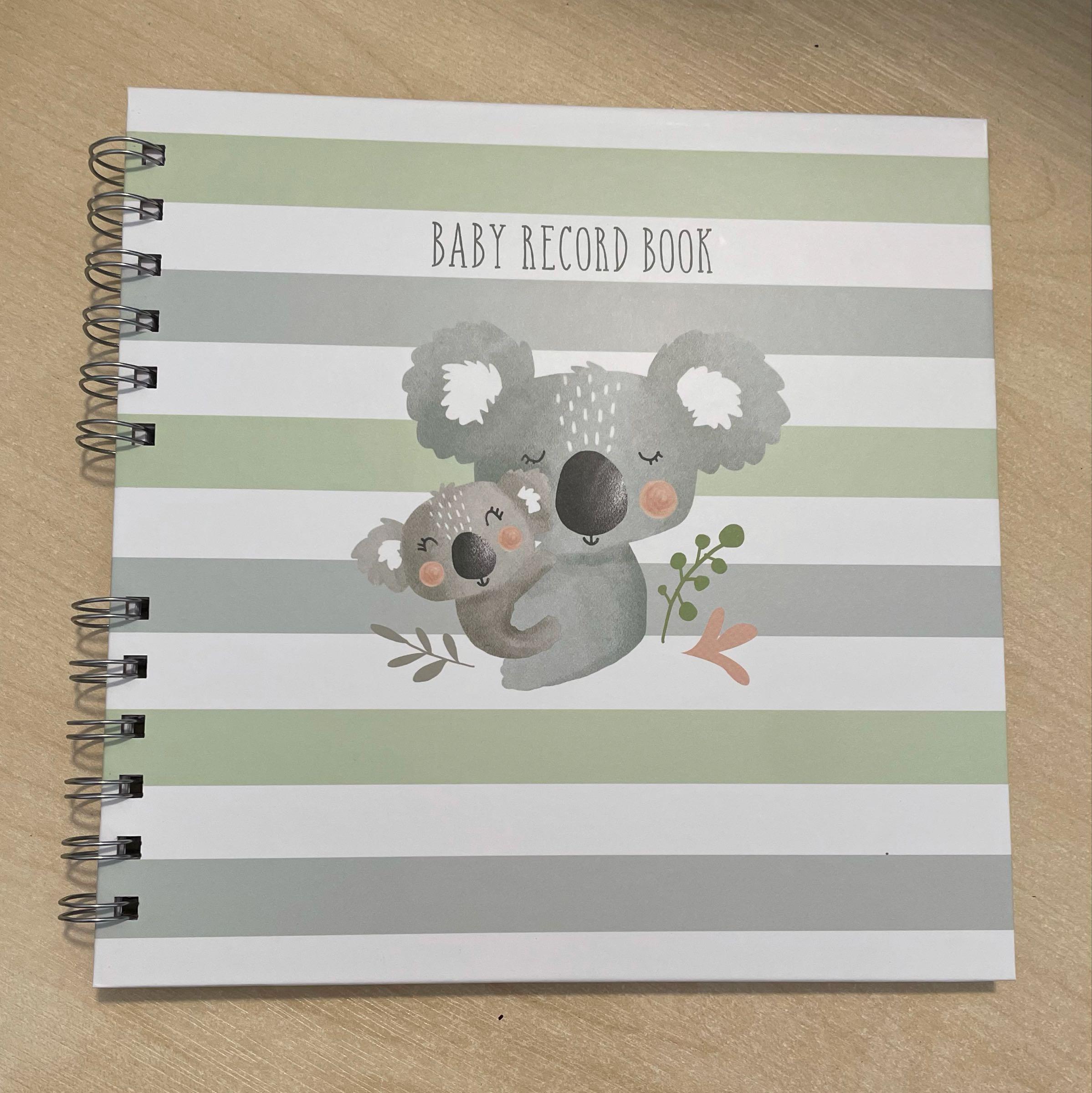Koala Baby Record Book