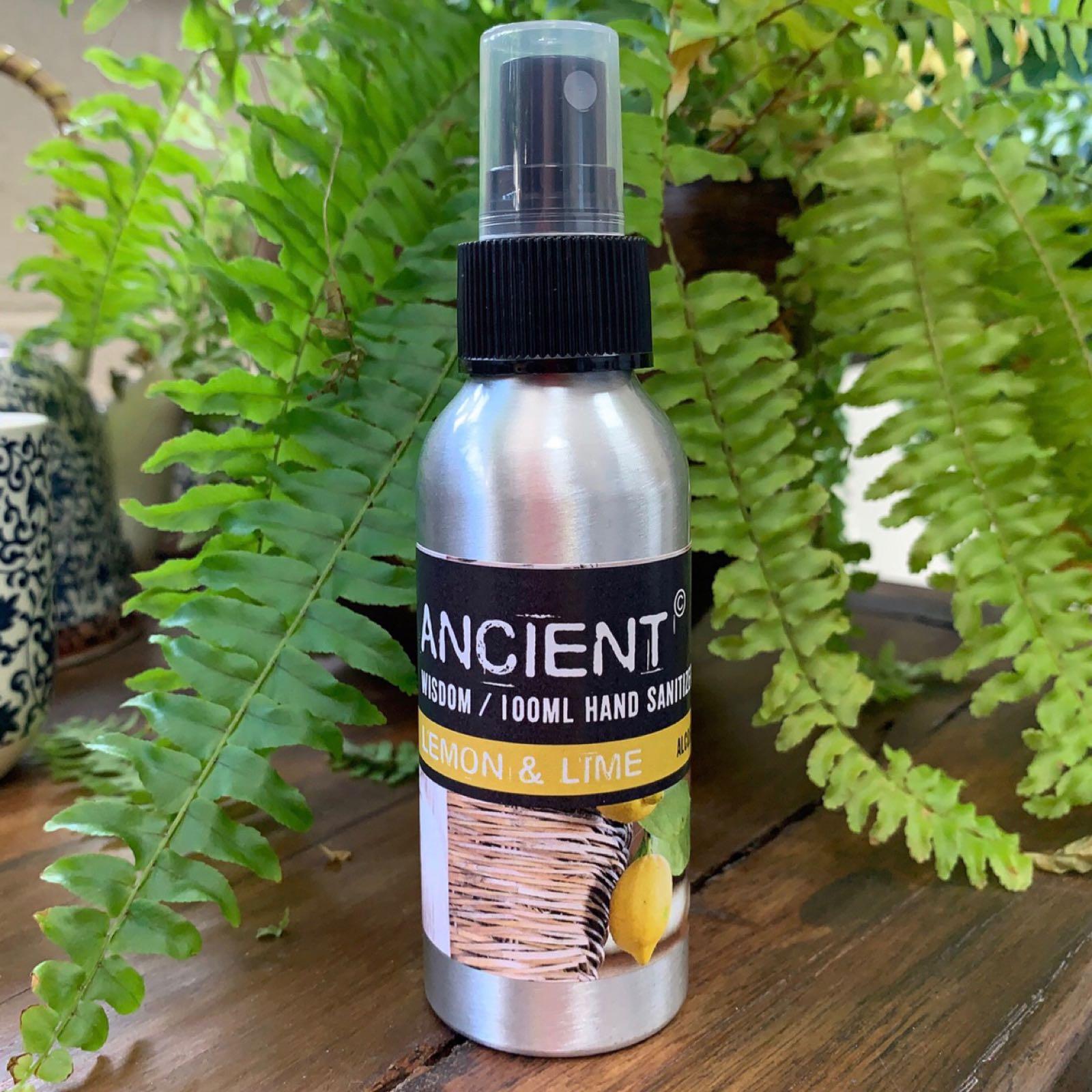 Lemon & Lime Hand Sanitiser Spray