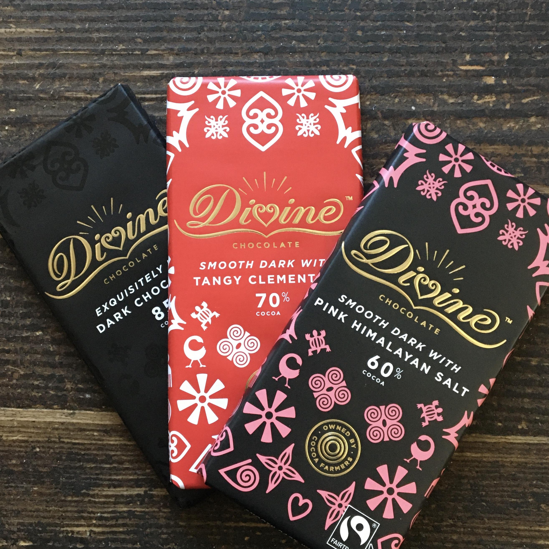 Divine Chocolate bar