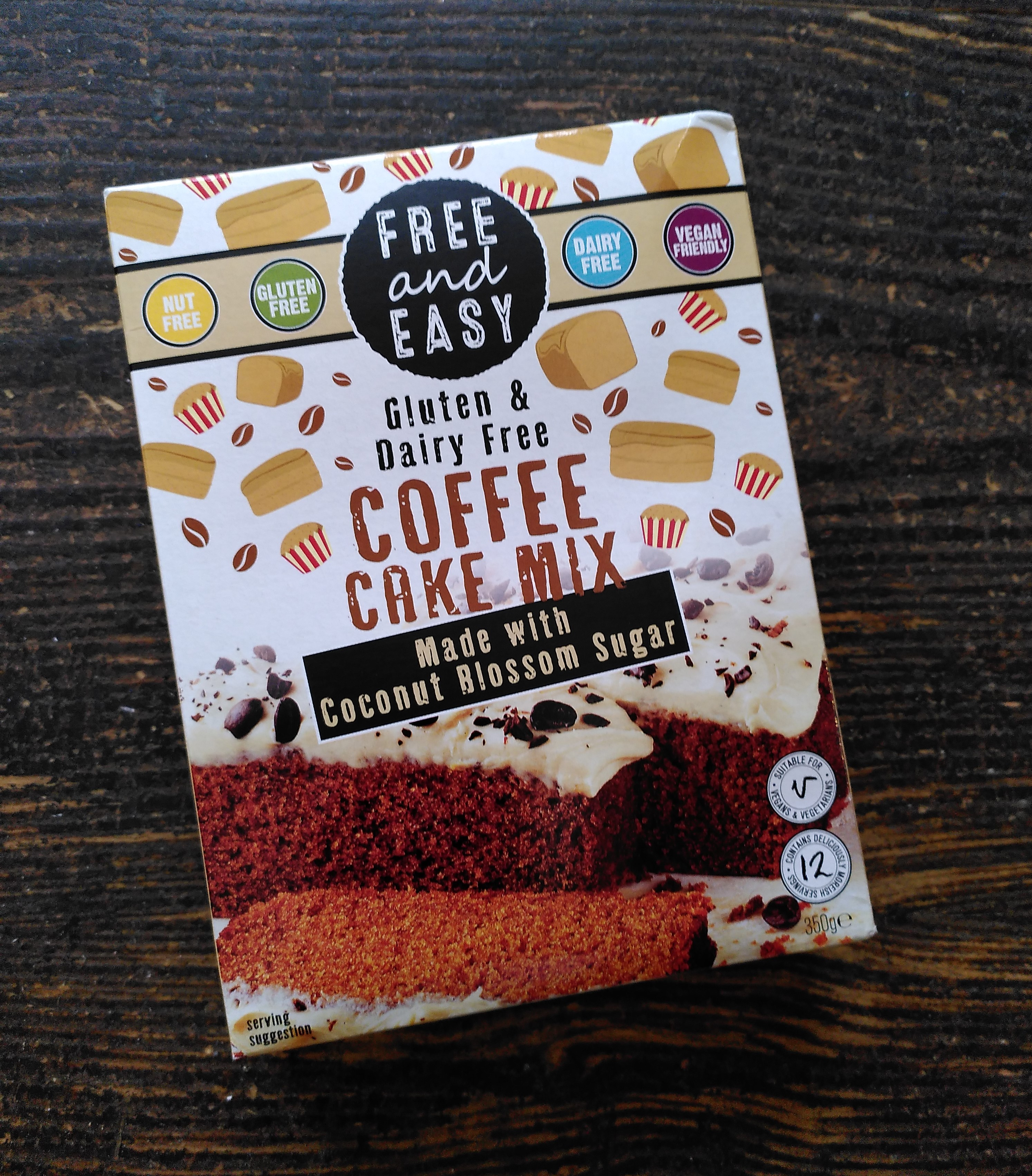 Free and Easy Coffee Cake Mix
